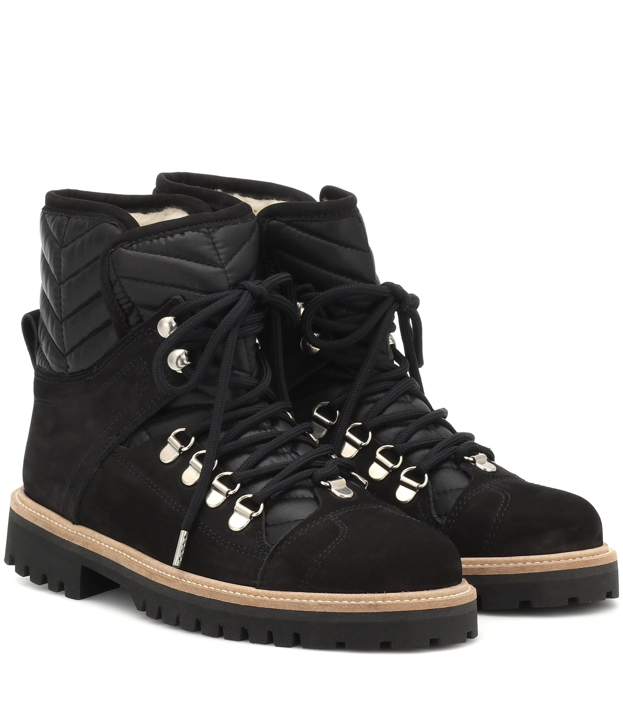1956bf00929 Women's Black Edna Suede Ankle Boots
