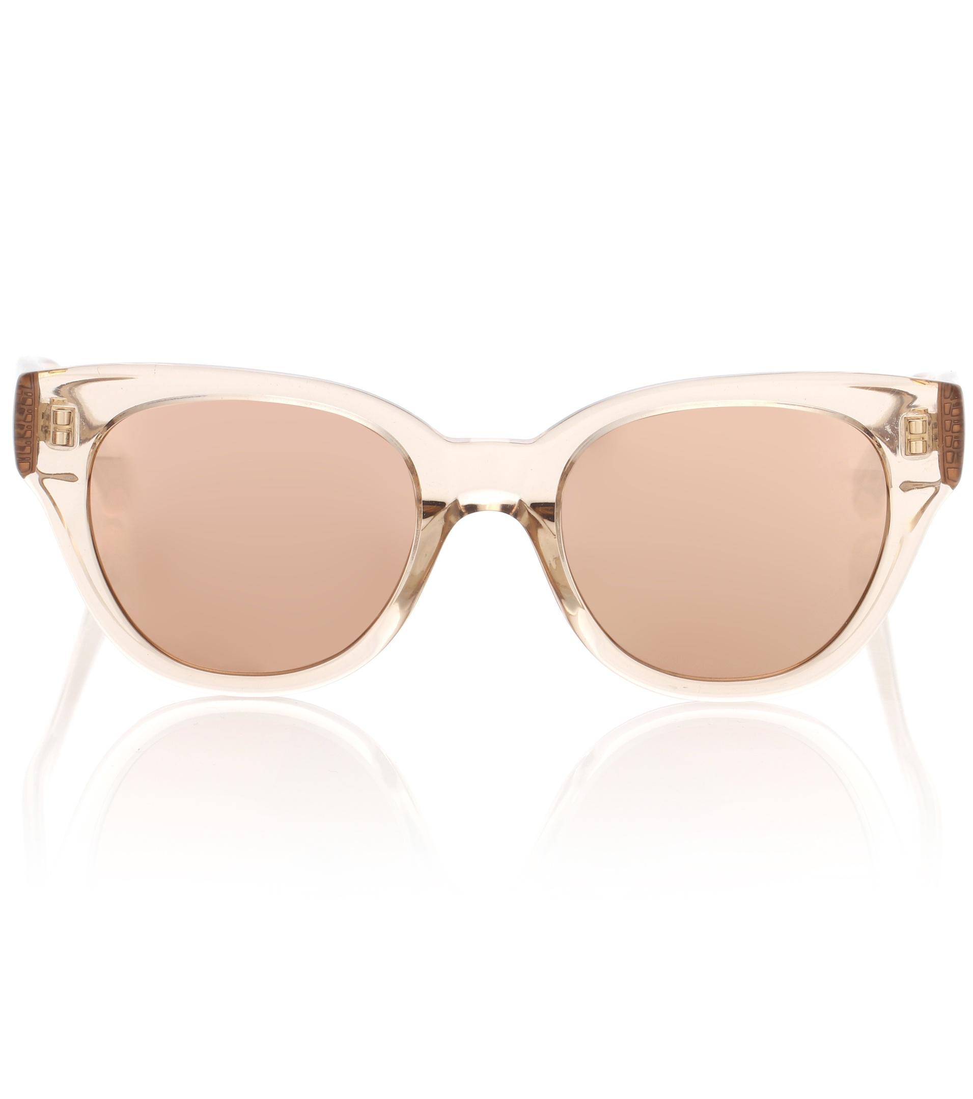 668 C2 cat-eye sunglasses Linda Farrow mRmsXWn3C