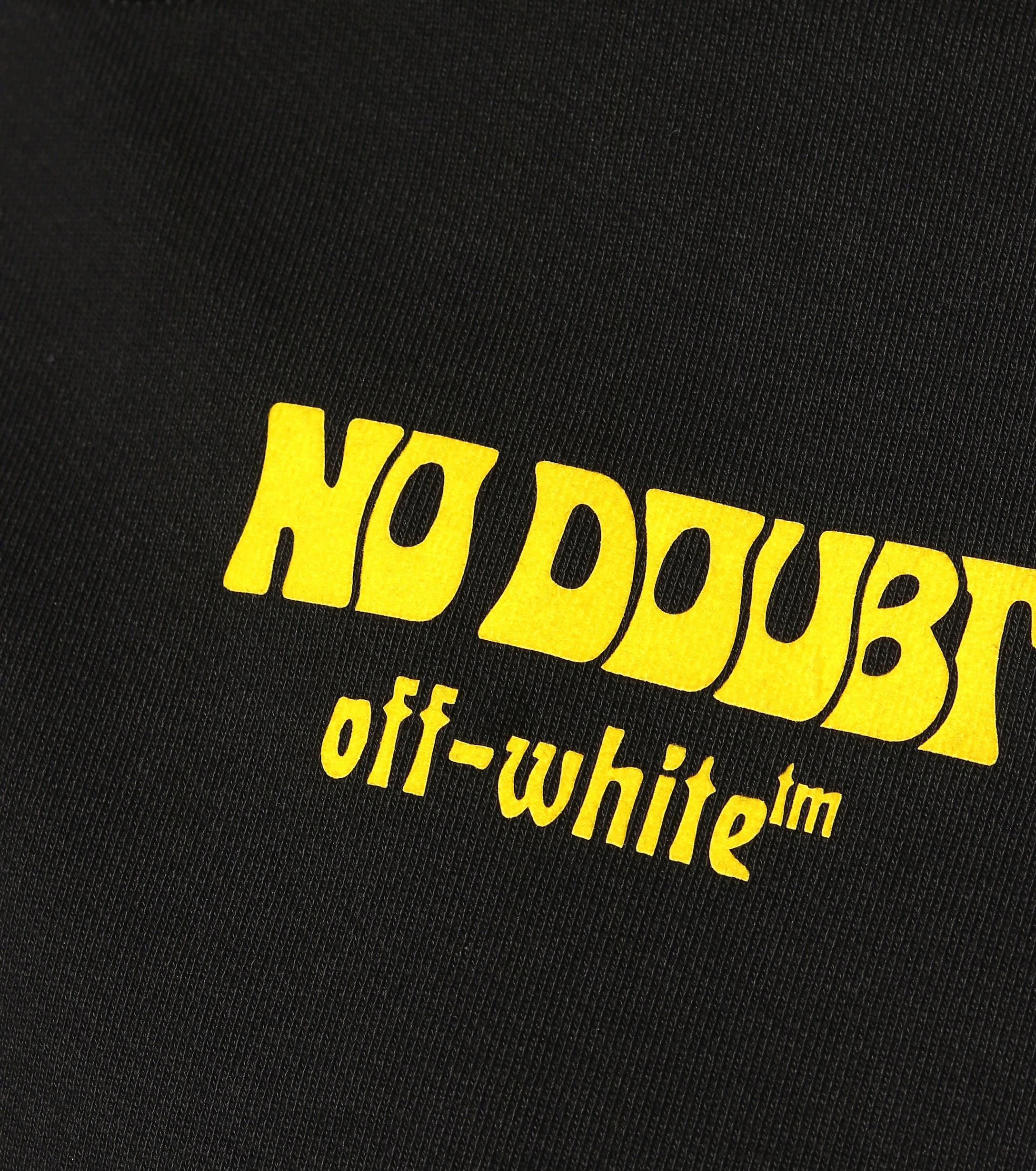 Sweat-shirt No Doubt en coton imprimé Coton Off-White c/o Virgil Abloh en coloris Noir