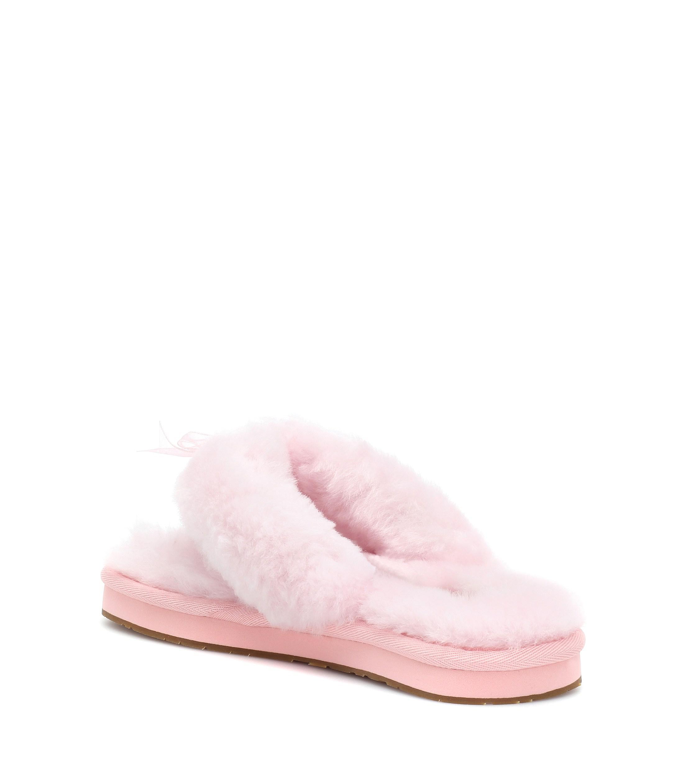 54c05b94b43 Lyst - UGG Fluff Flip Flop Iii Slippers in Pink