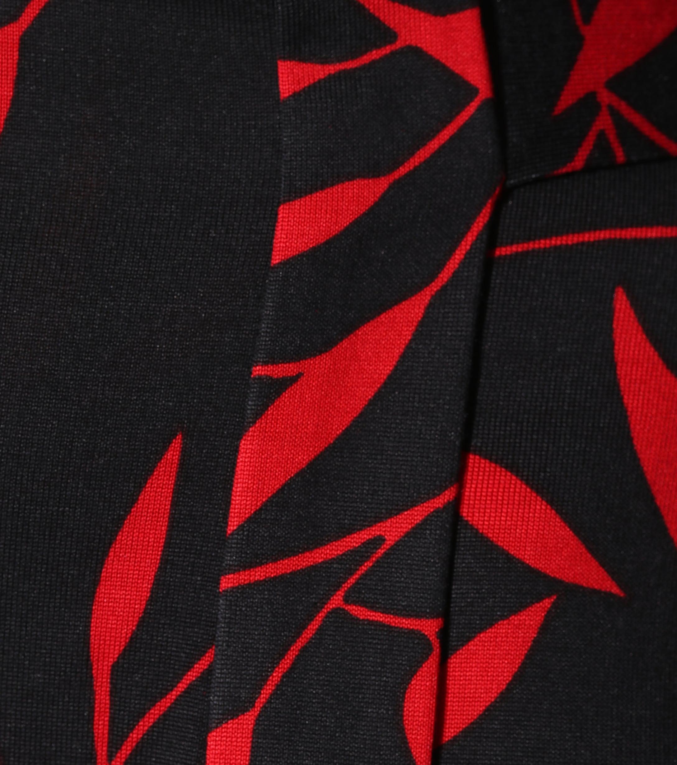 Diane von Furstenberg Julian Printed Silk Wrap Dress in Red