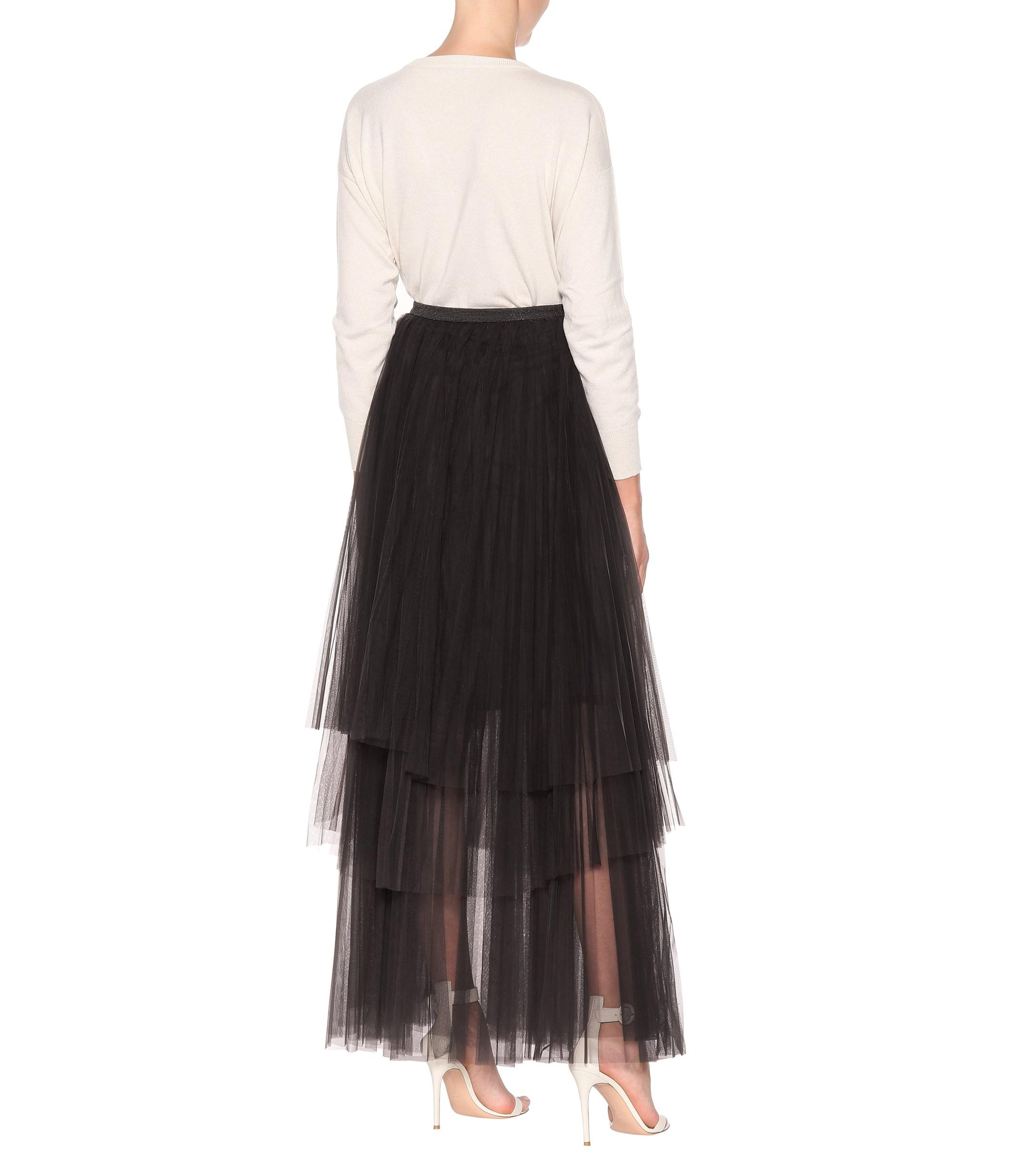 33b29c9cf Gallery. Previously sold at: Mytheresa · Women's Tulle Skirts Women's Long  ...