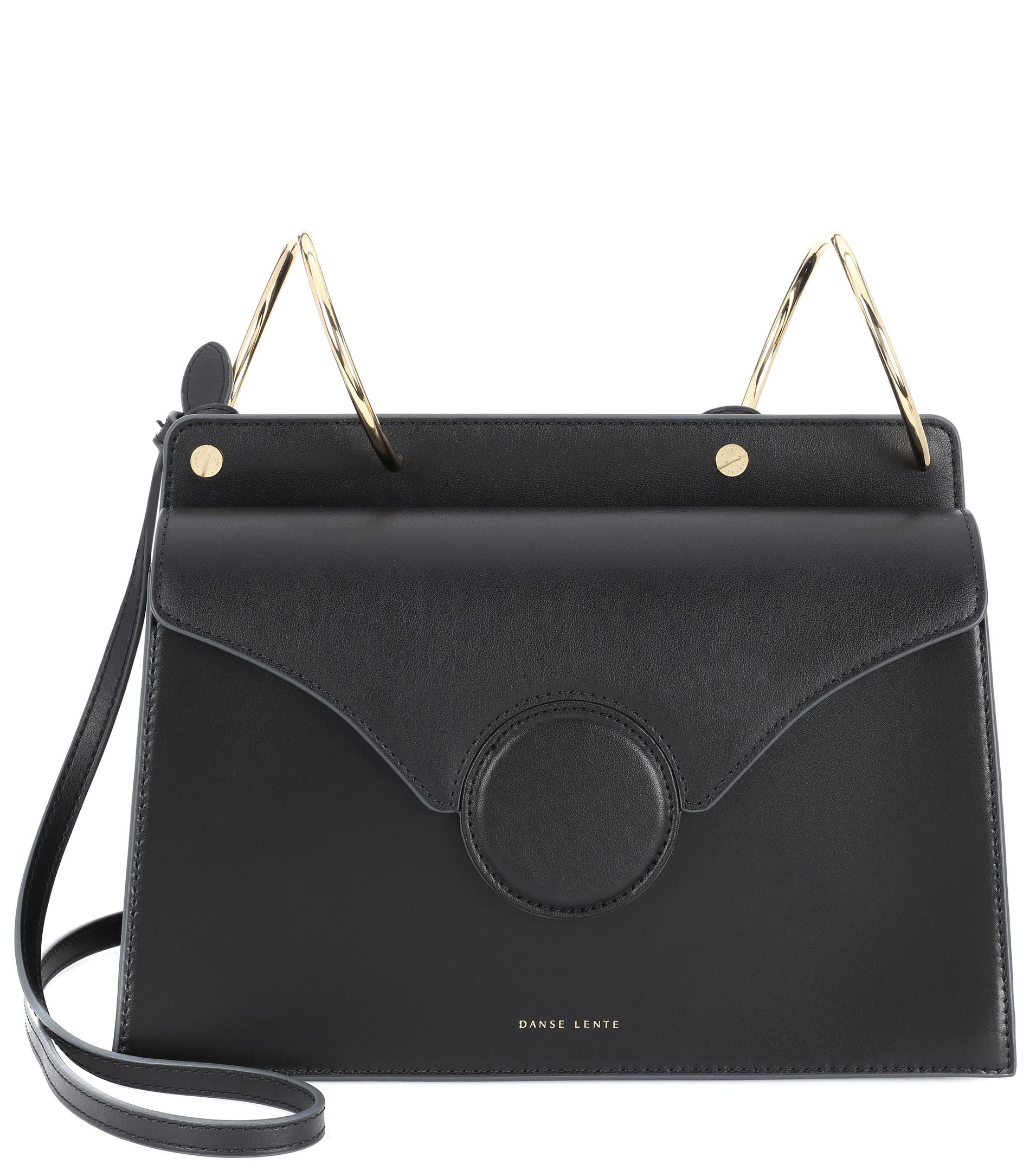 039015182d Phoebe Leather Shoulder Bag – Lyst. View fullscreen