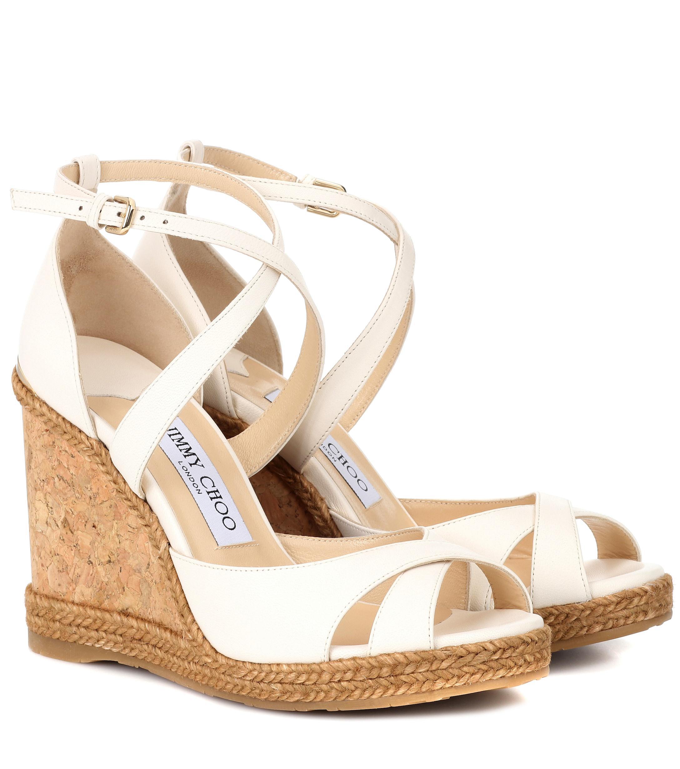 6a5a8eddd8d3 Jimmy Choo Alanah 105 Platform Sandals - Save 42% - Lyst