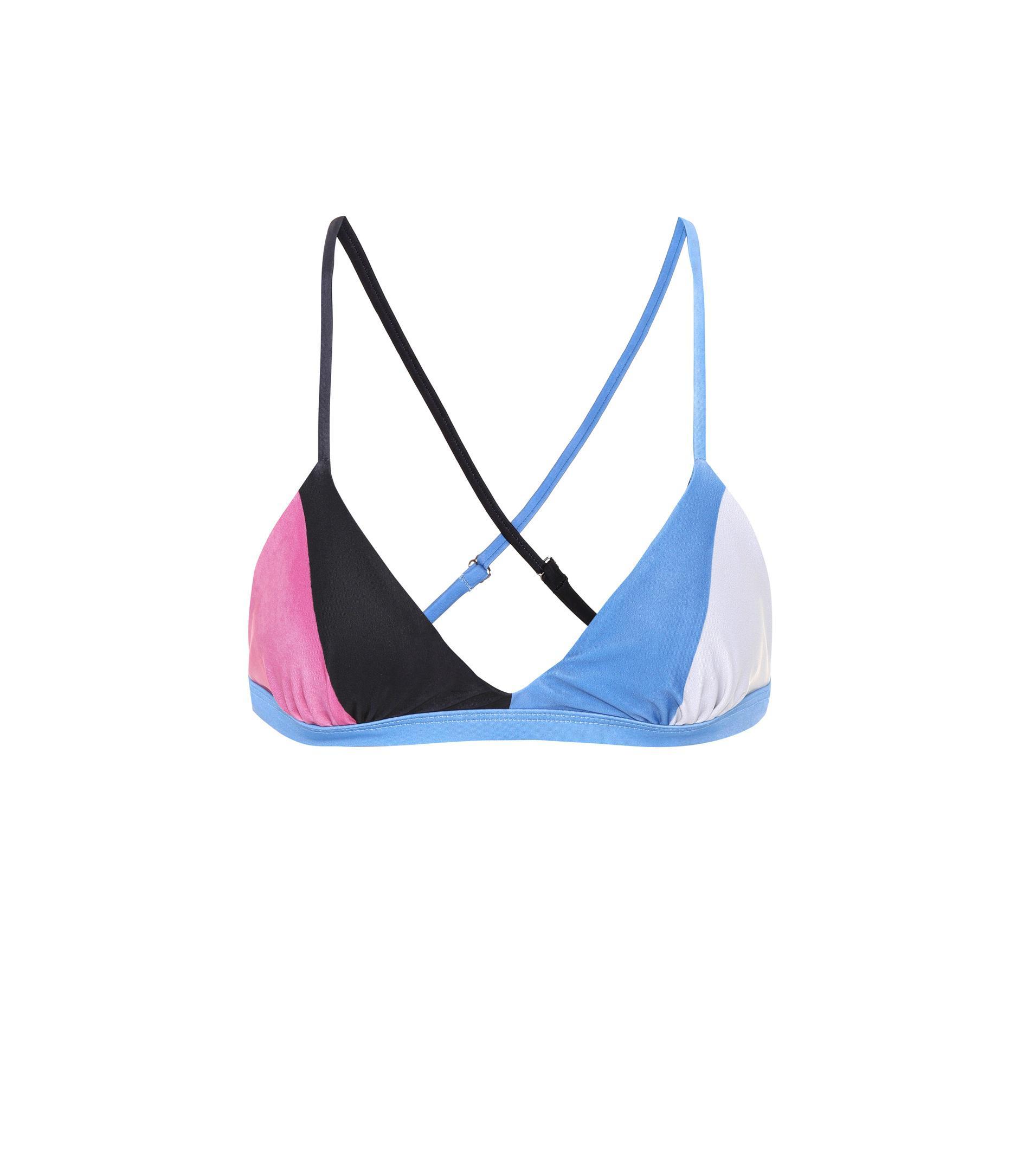 Mara Hoffman Haut de bikini triangle Soleil Images Footlocker En Ligne 8MHKzH