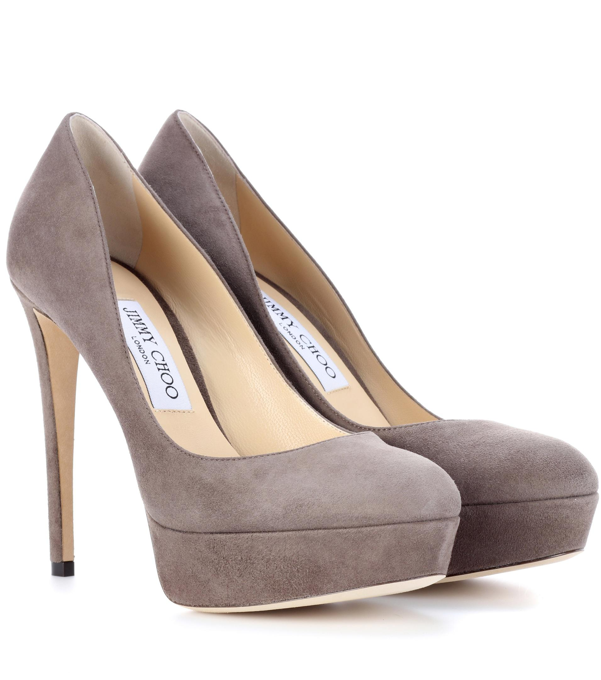Ellis 120 suede platform pumps Jimmy Choo London Outlet Latest Buy Cheap Really Cut-Price Prices For Sale ju14Ht