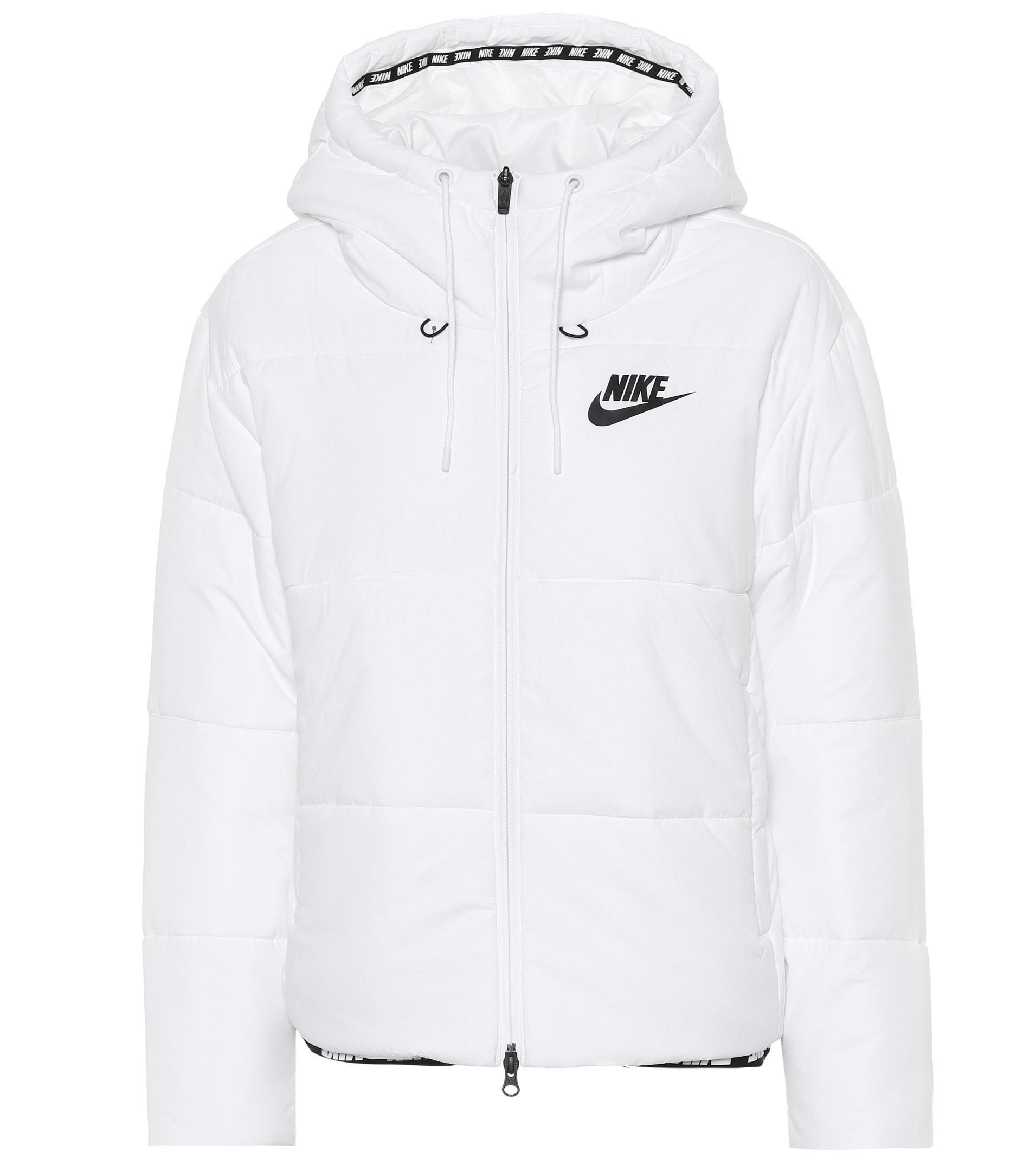 5cb7745d055e Lyst - Nike Sportswear Puffer Jacket in White