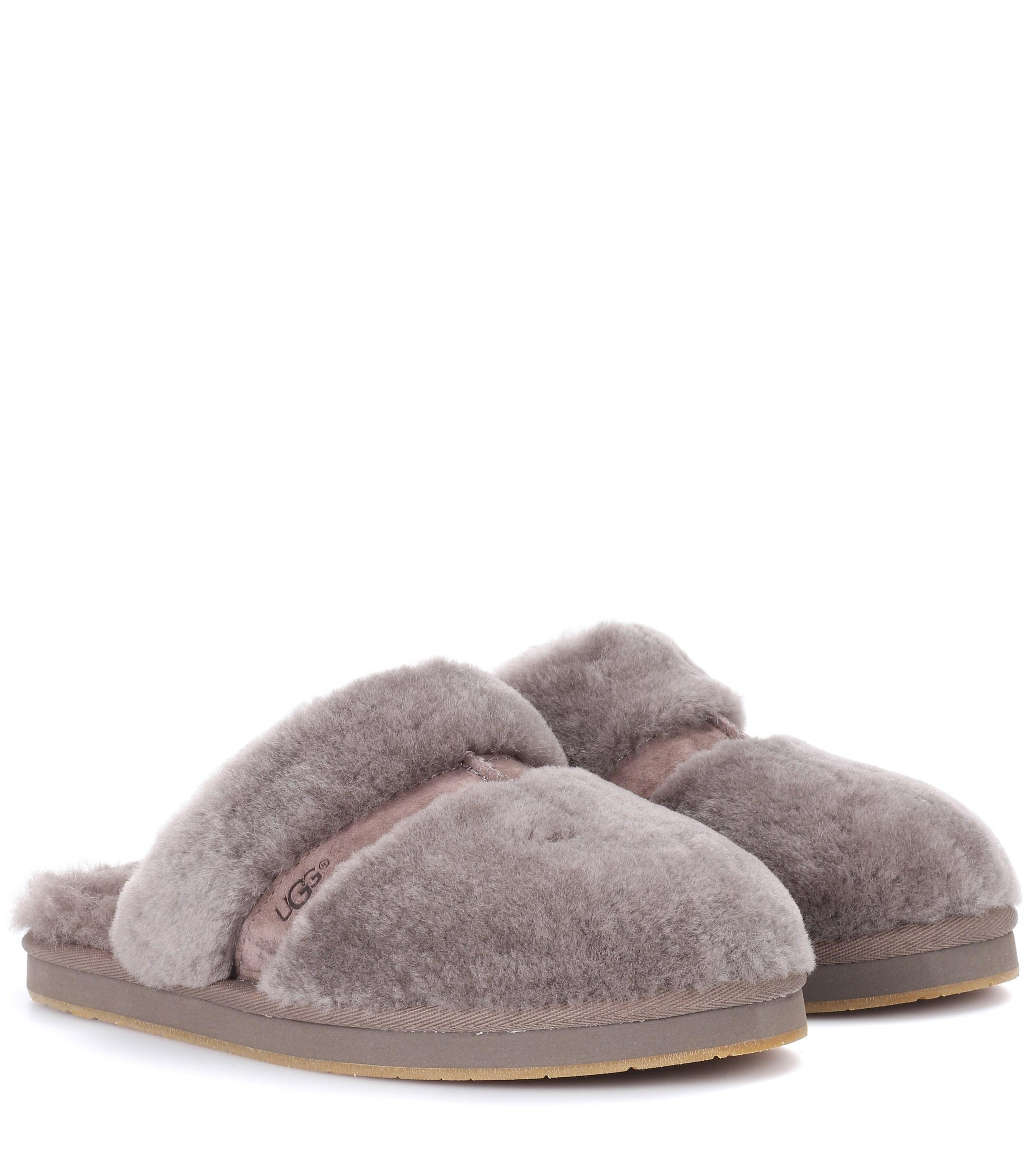 d0837bf31e6 UGG Dalla Fur Slippers in Brown - Lyst