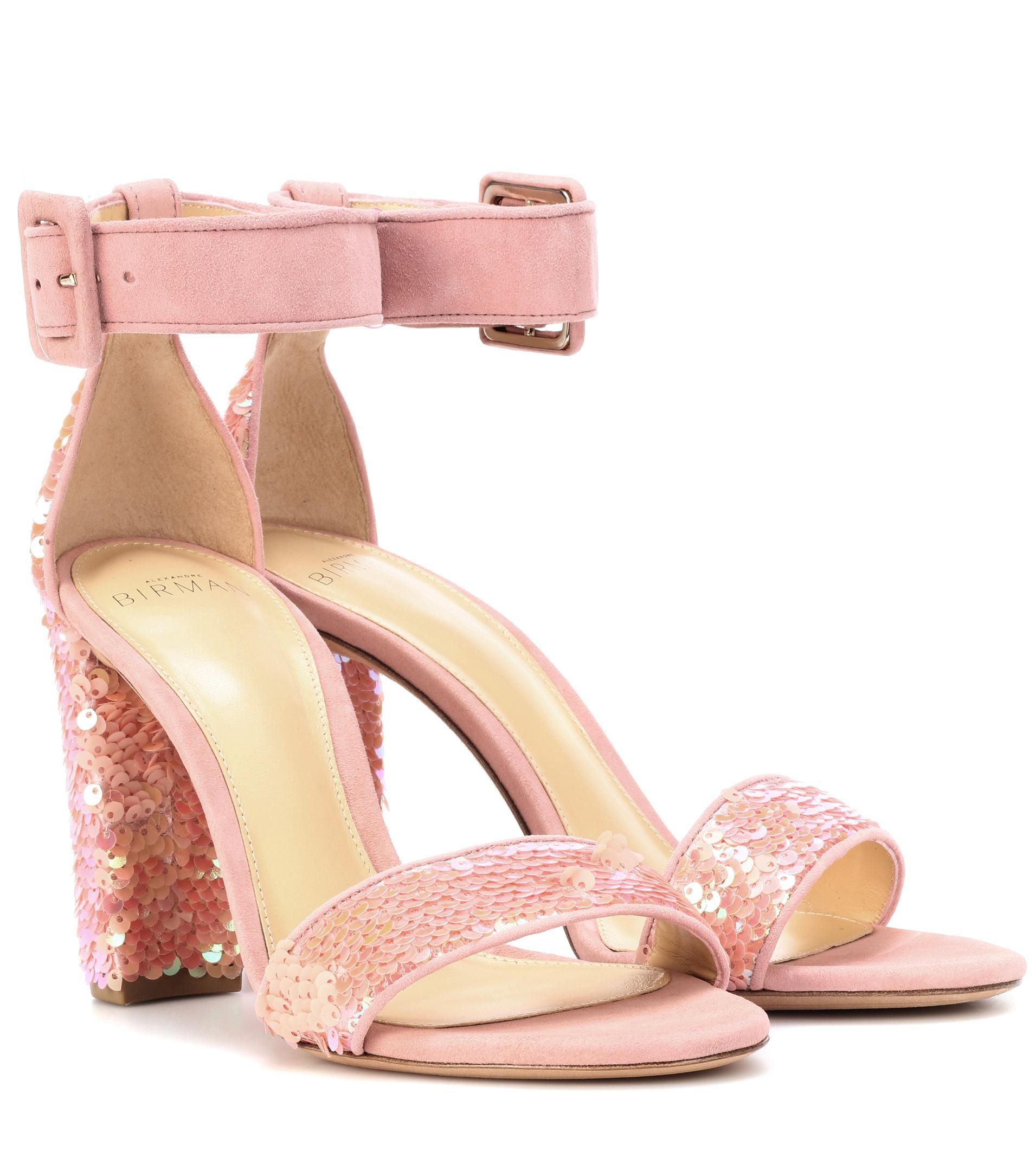 ALEXANDRE BIRMAN Delfinna Disco 90 sequined sandals w5K2HCo