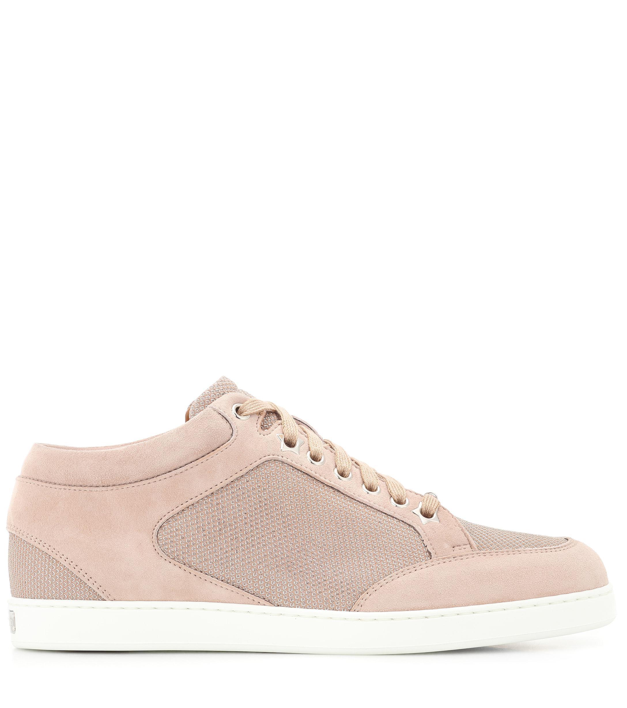 Zapatillas de gamuza Miami Jimmy Choo de color Rosa