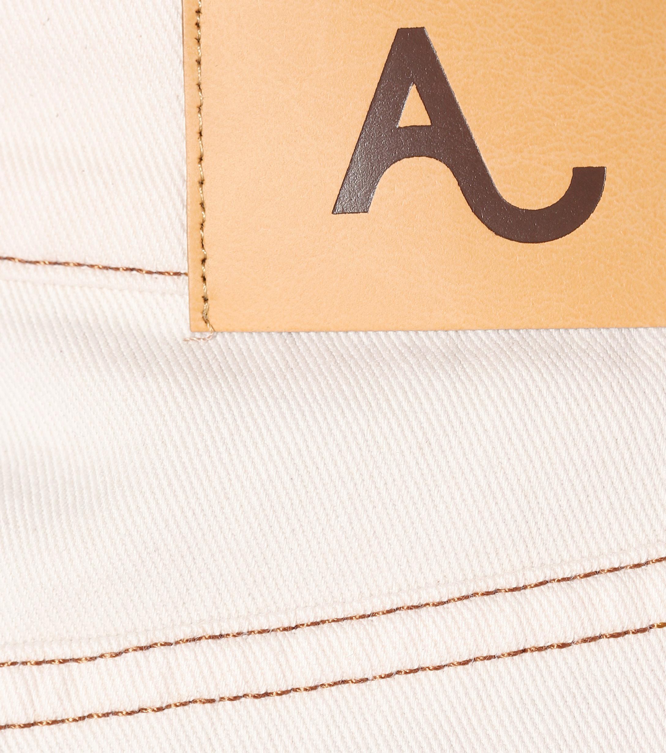 Falda de jean Patch Pocket ALEXACHUNG de Denim