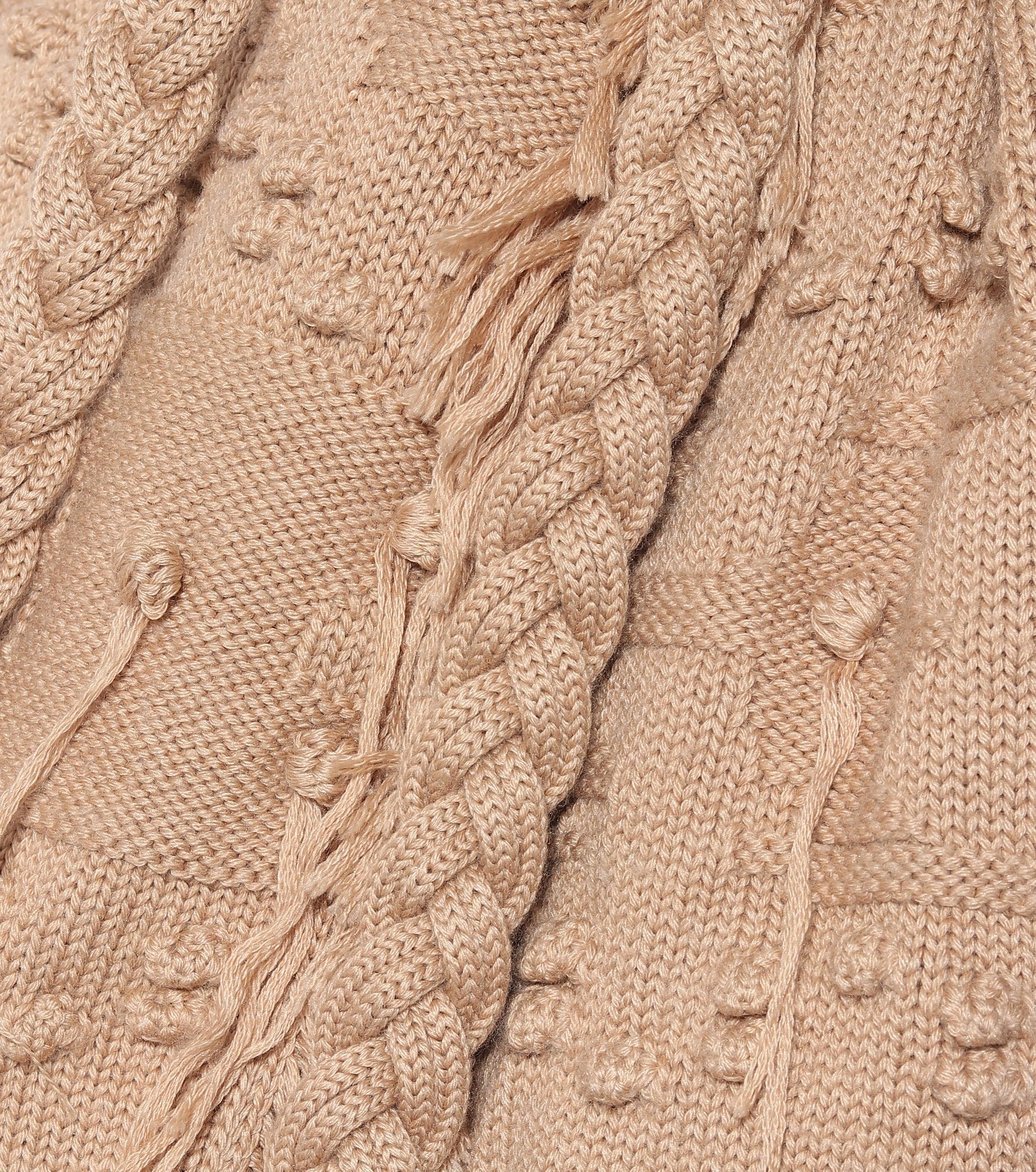 Cárdigan de lana, seda y cachemir Alanui de Lana de color Neutro