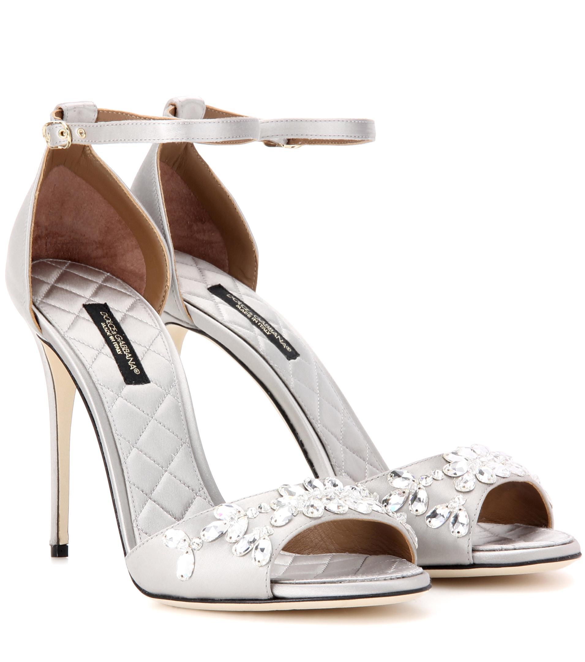Dolce & Gabbana Satin Sandals oYEQUdlfd2
