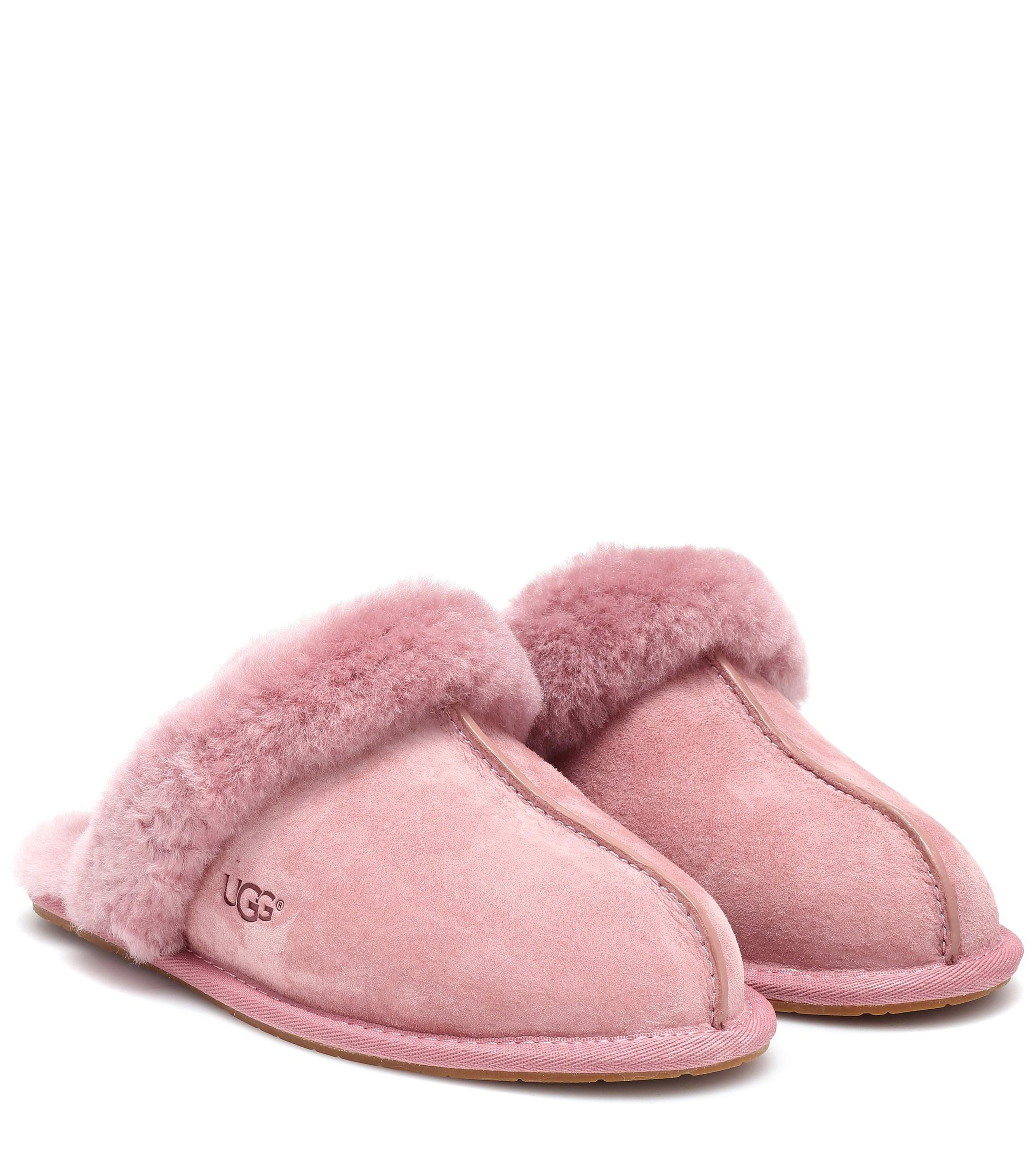 661ceb069a2 UGG Scuffette Ii Suede Slippers in Pink - Lyst