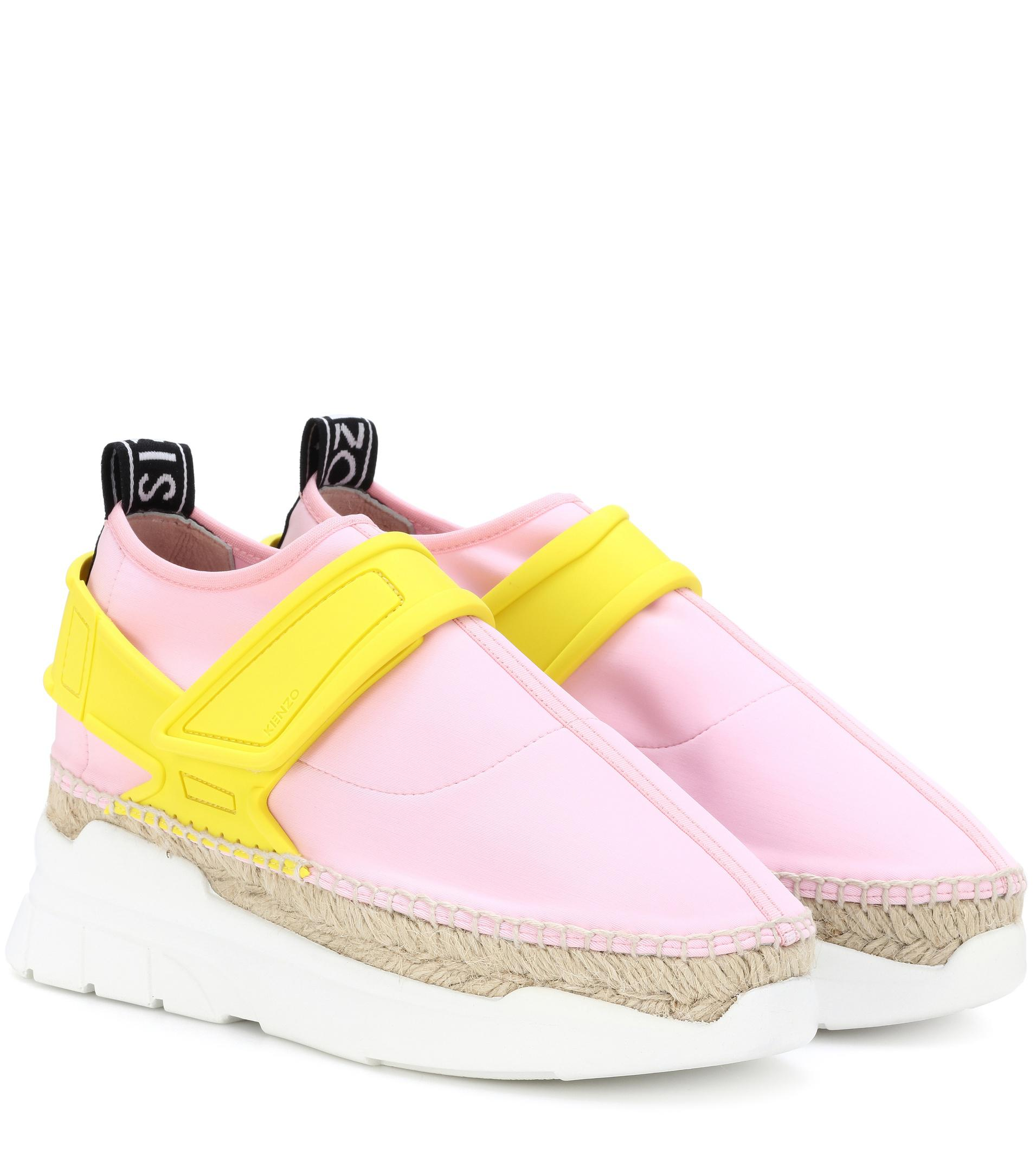 Sneakers Pink Espadrille Kenzo K Lastic L4A5Rj