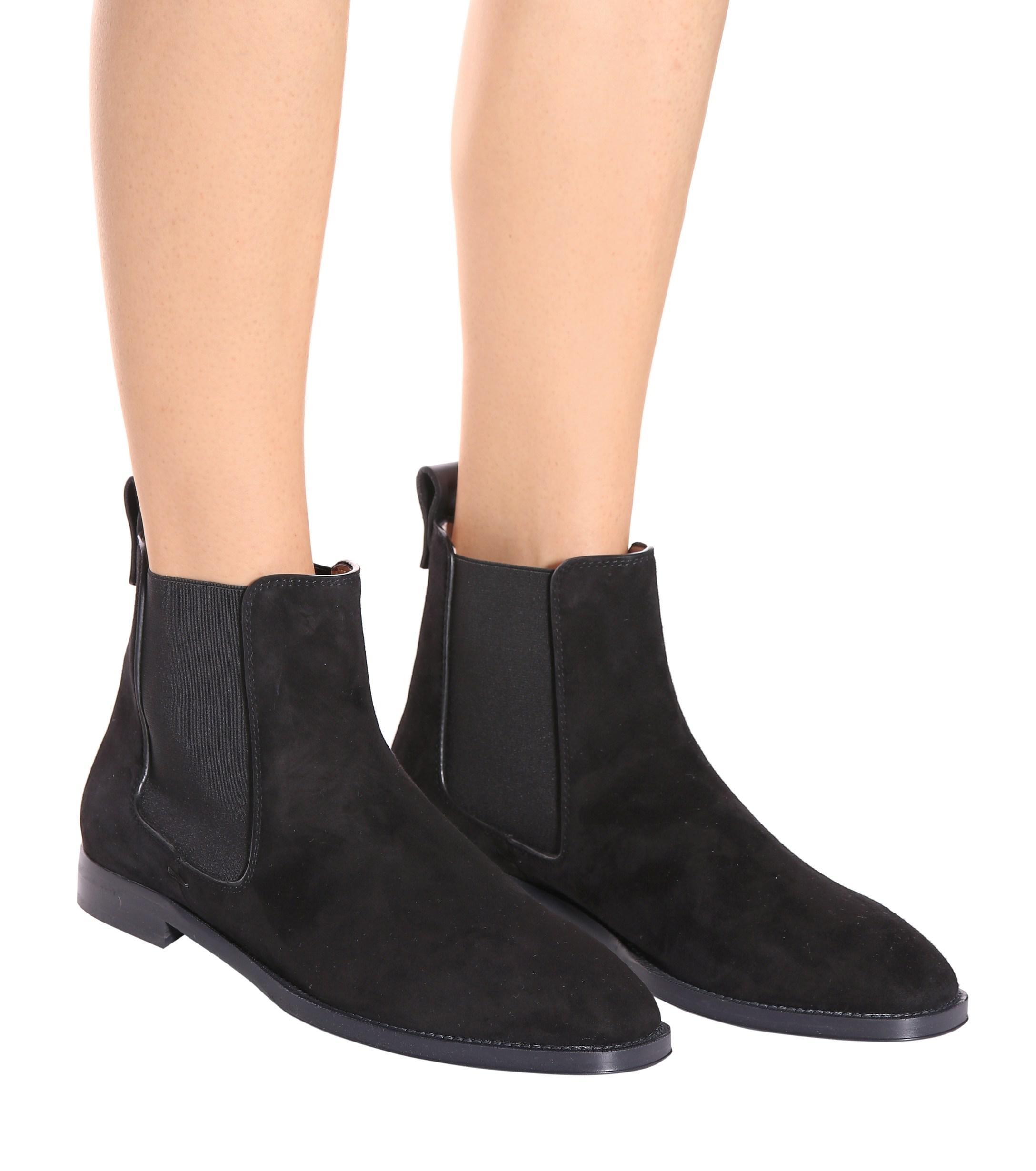 Stuart Weitzman Atom Suede Ankle Boots