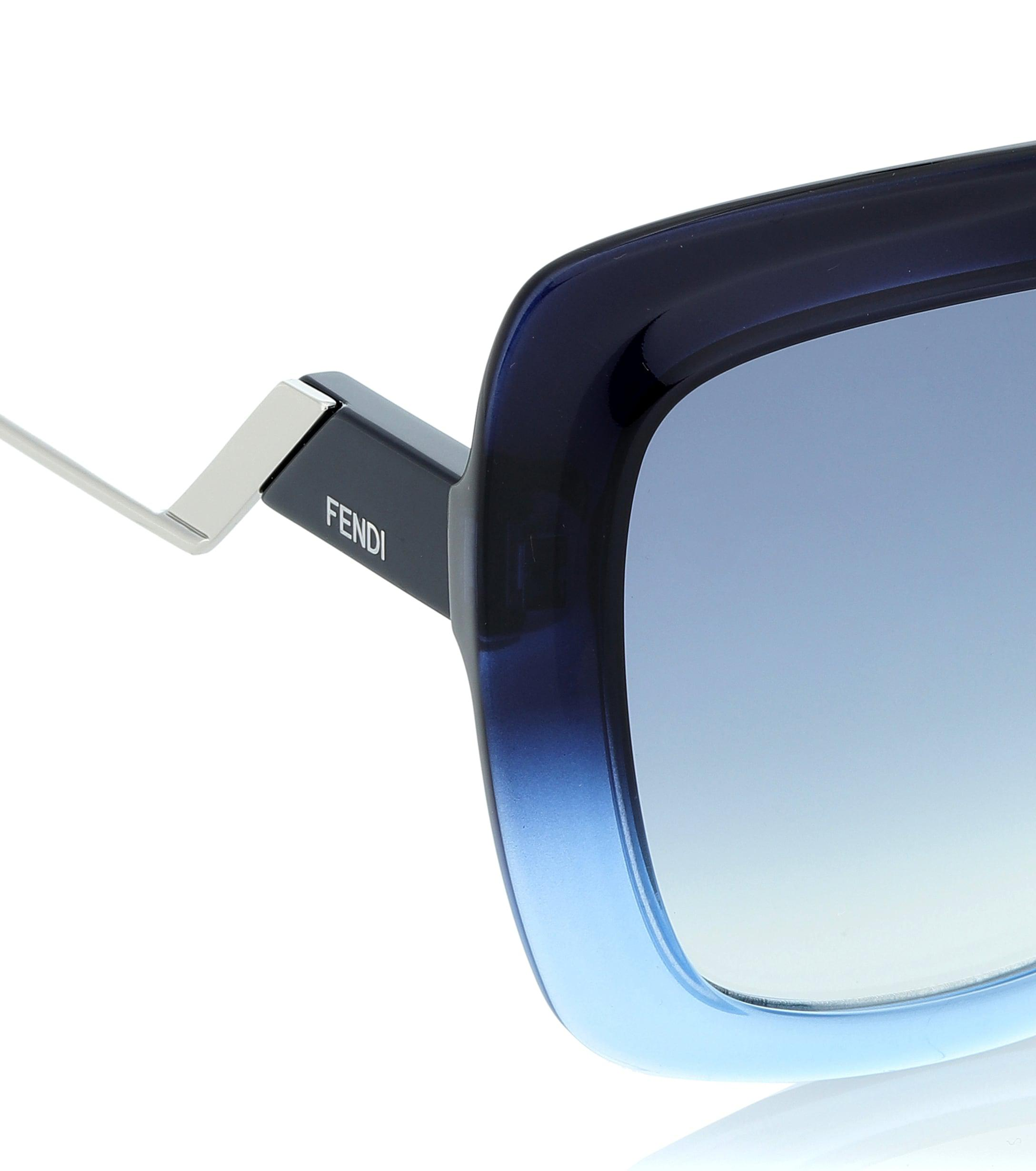 9bb390236a Fendi - Blue Gafas de sol Tropical Shine - Lyst. Ver en pantalla completa