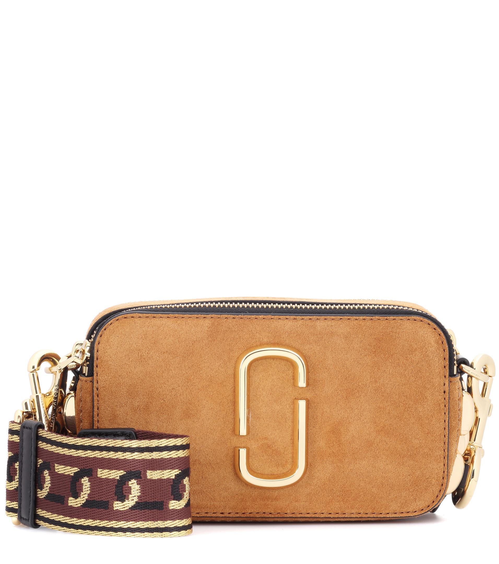 Snapshot Small Suede Camera Bag