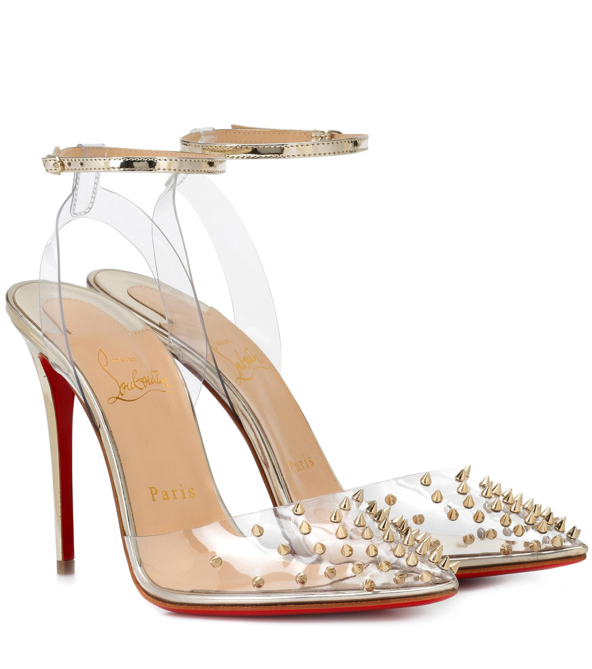 Christian Louboutin Spikoo 70 embellished pumps QSxtS49k