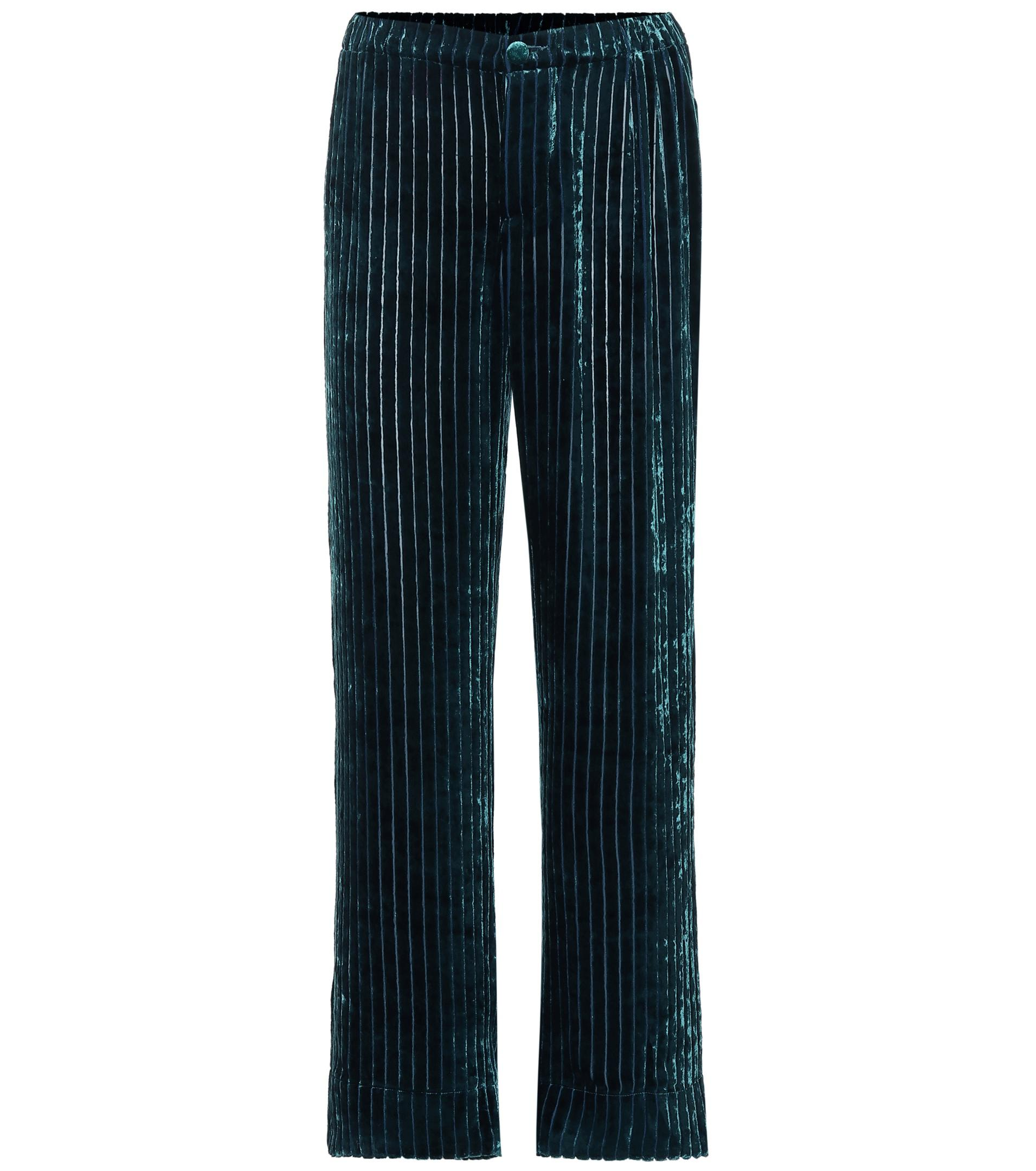 2d354a5bf F.R.S For Restless Sleepers Etere Velvet Corduroy Pajama Pants in ...