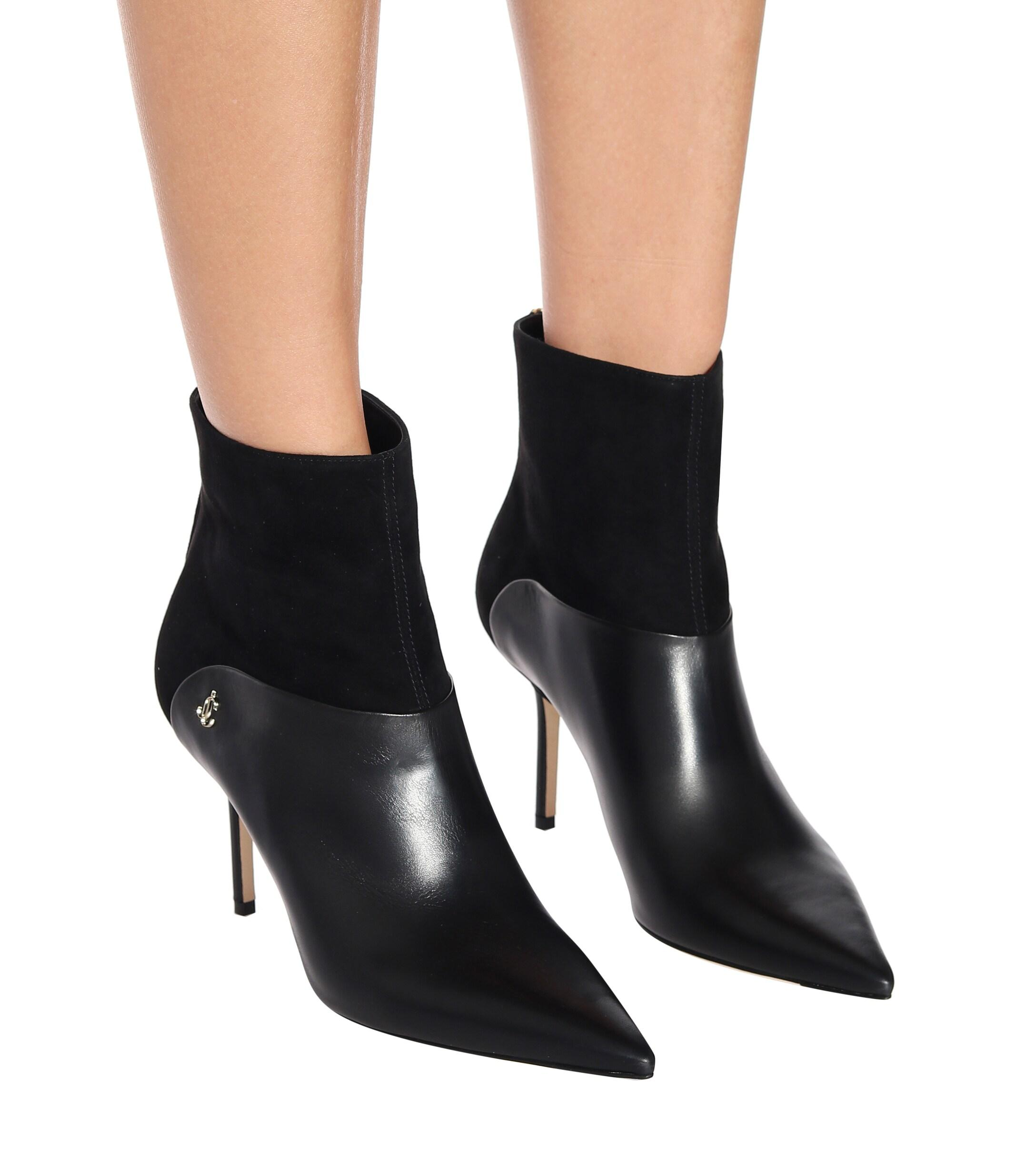 Jimmy Choo brown Beyla 85 ankle boots