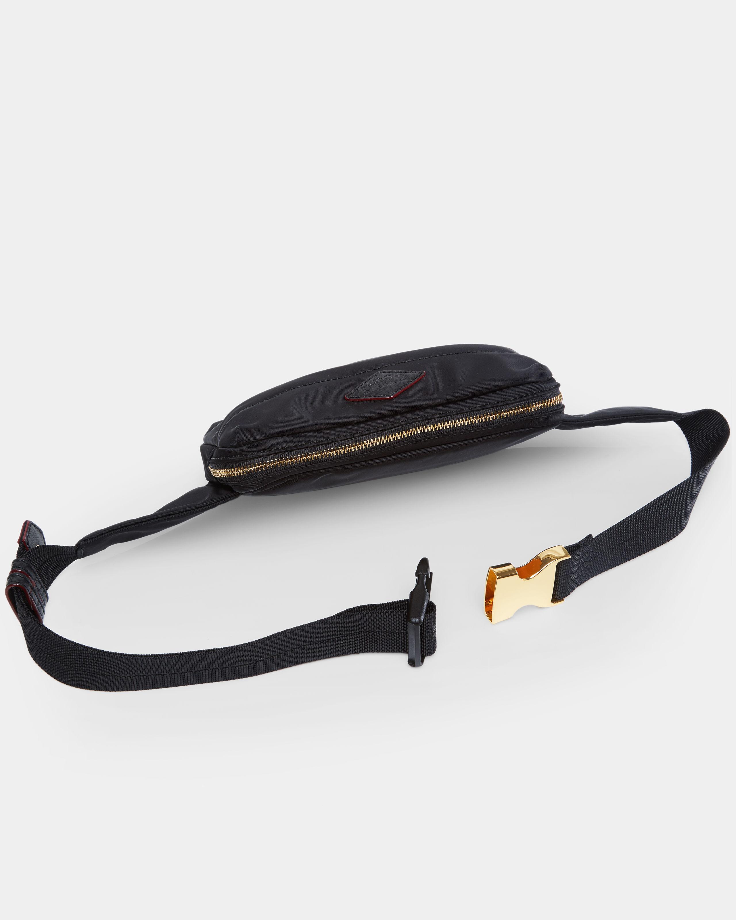 25f84c21e7d045 Mz Wallace Black Bedford Soho Belt Bag in Black - Lyst