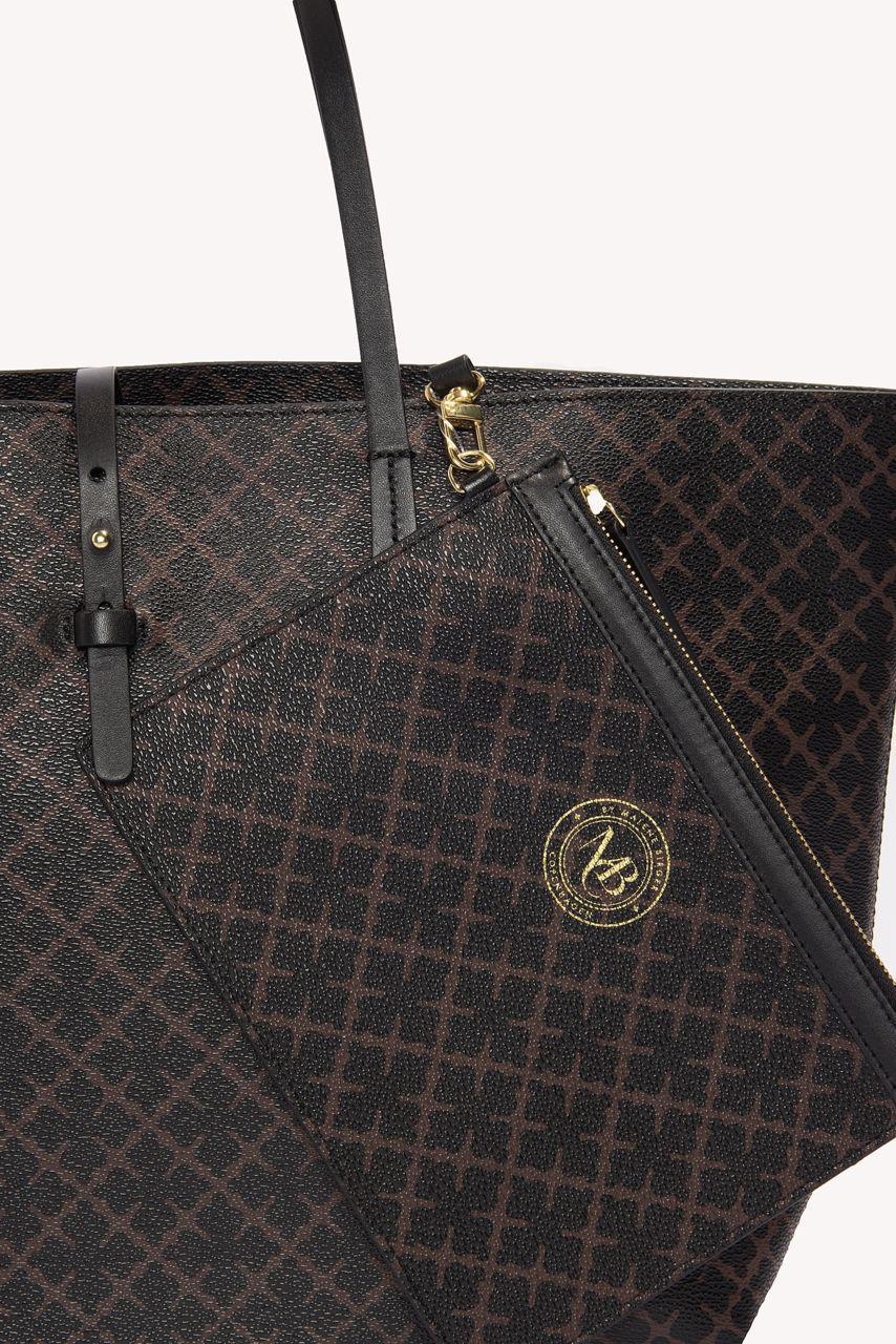1a6665a0d65c Lyst - By Malene Birger Grineeh Handbag in Black