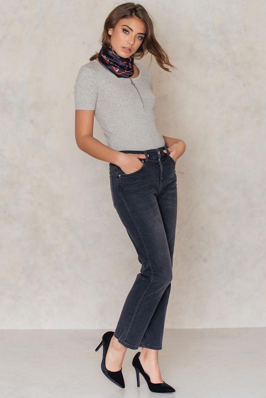 käytettävissä parhaiten myydä ilmainen toimitus Alex Grey Wash Jeans