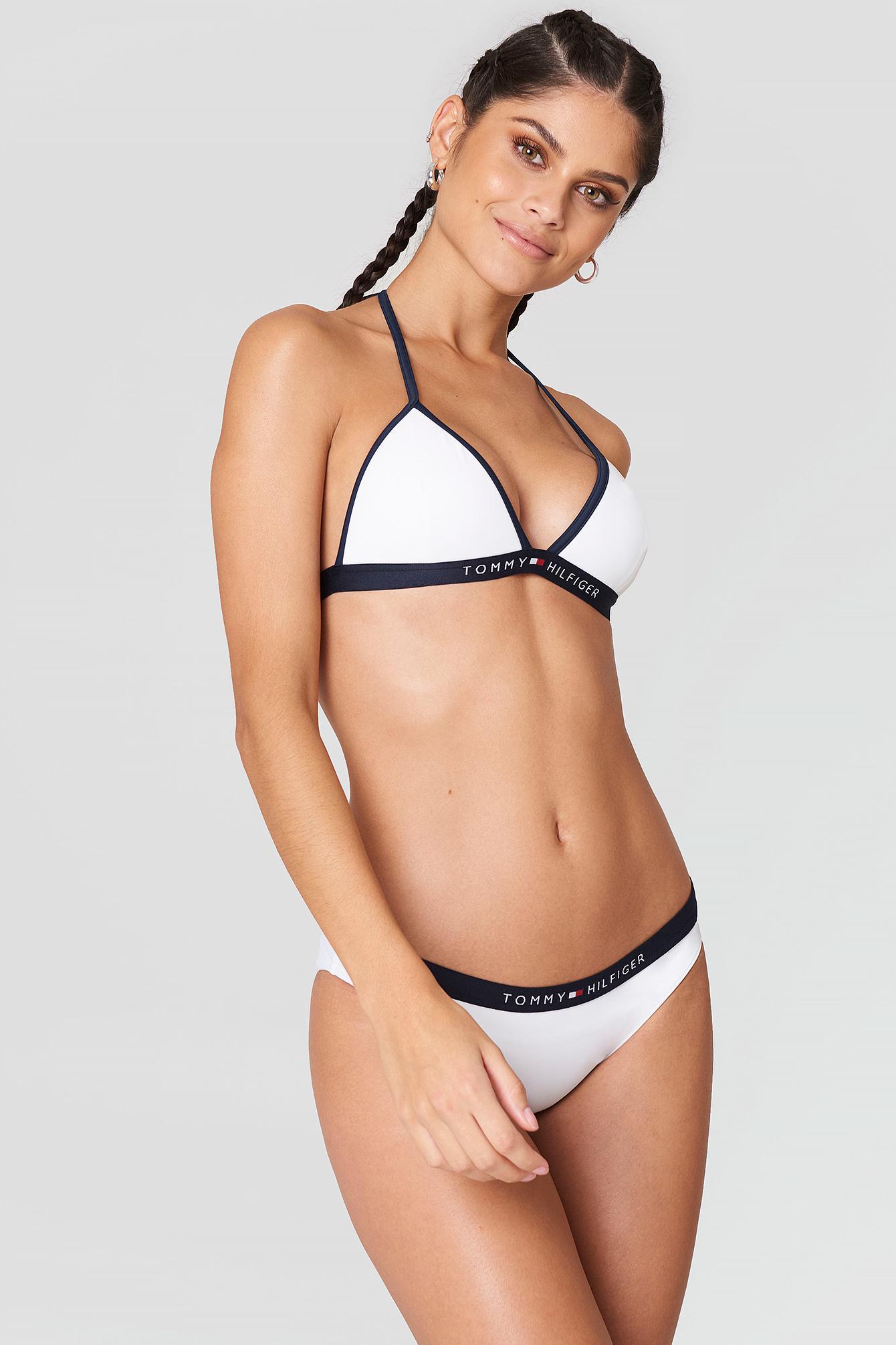 762816f7f8491 Lyst - Tommy Hilfiger Bikini Bottom Bright White in White