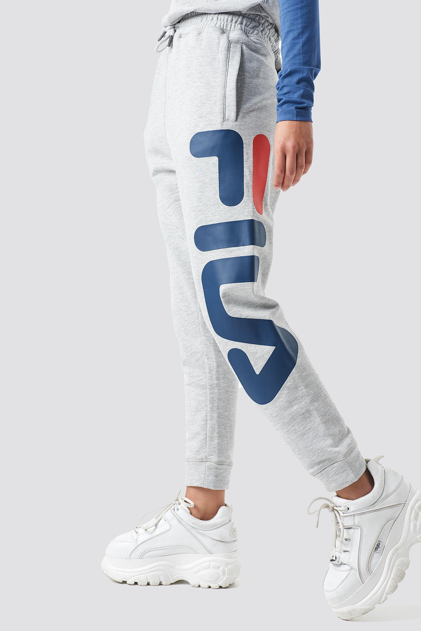 Fila Classic Pure Pants Light Grey Melange in Gray - Lyst df26ad731d8