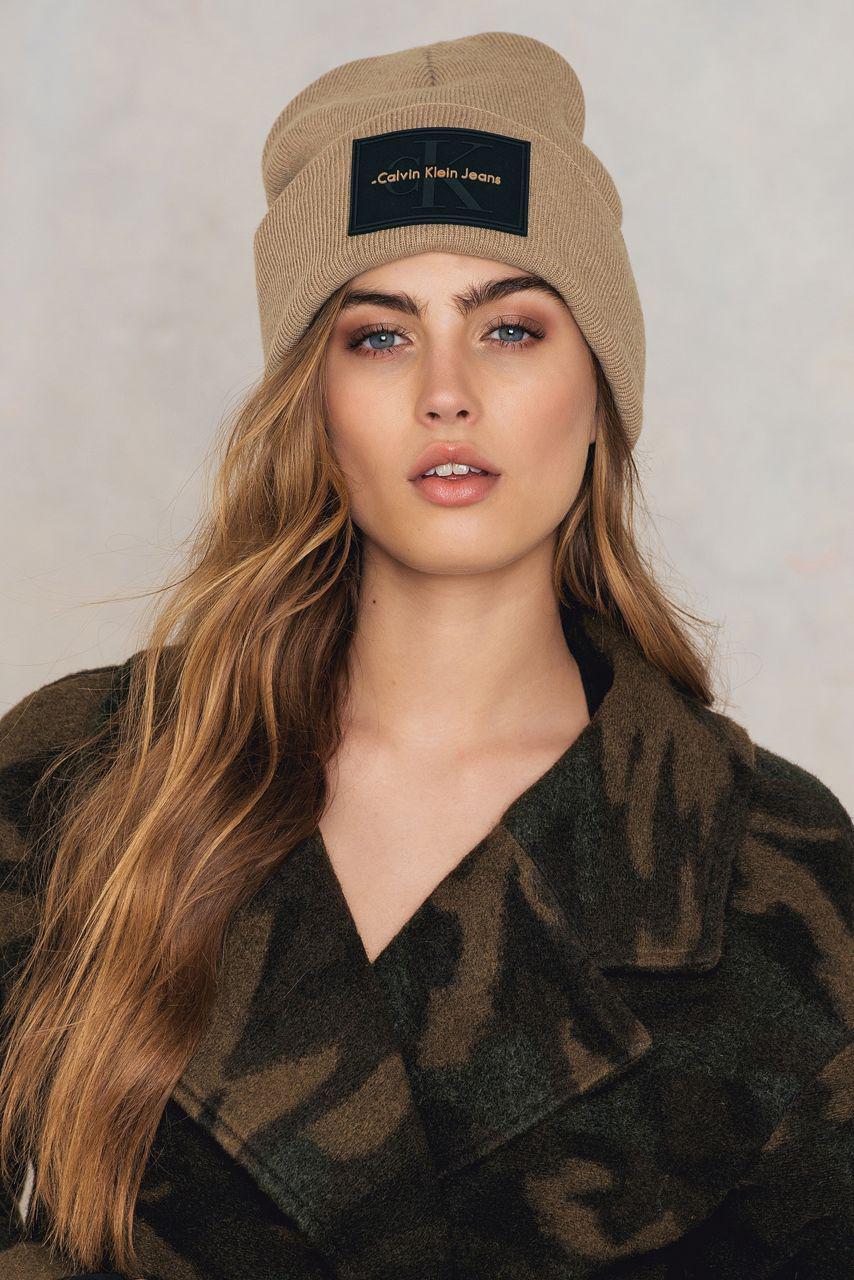 baa38e0d29f Lyst - Calvin Klein Re-issue Beanie for Men