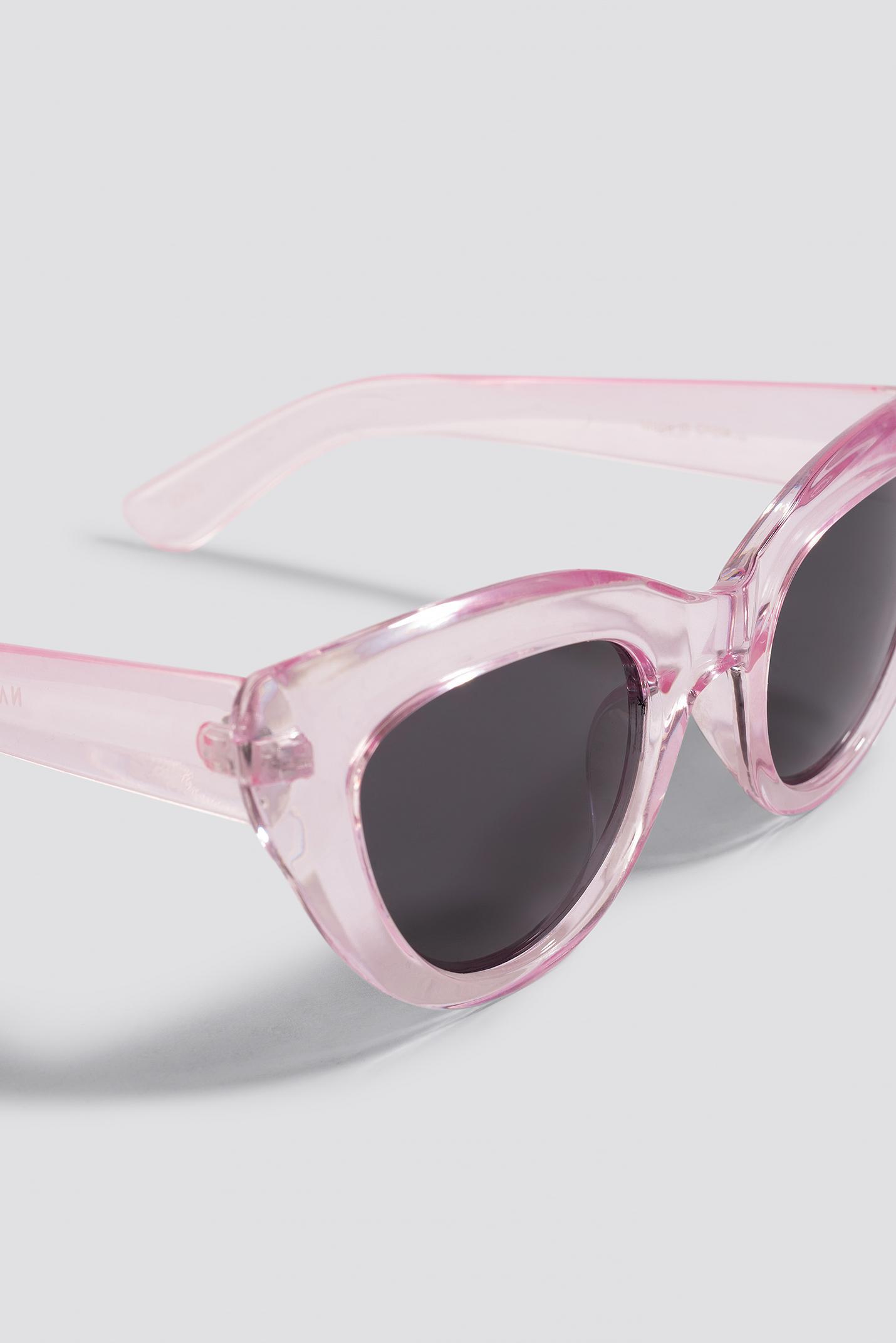 ccb595ba3e ... Cat Eye Sunglasses Light Pink - Lyst. View fullscreen
