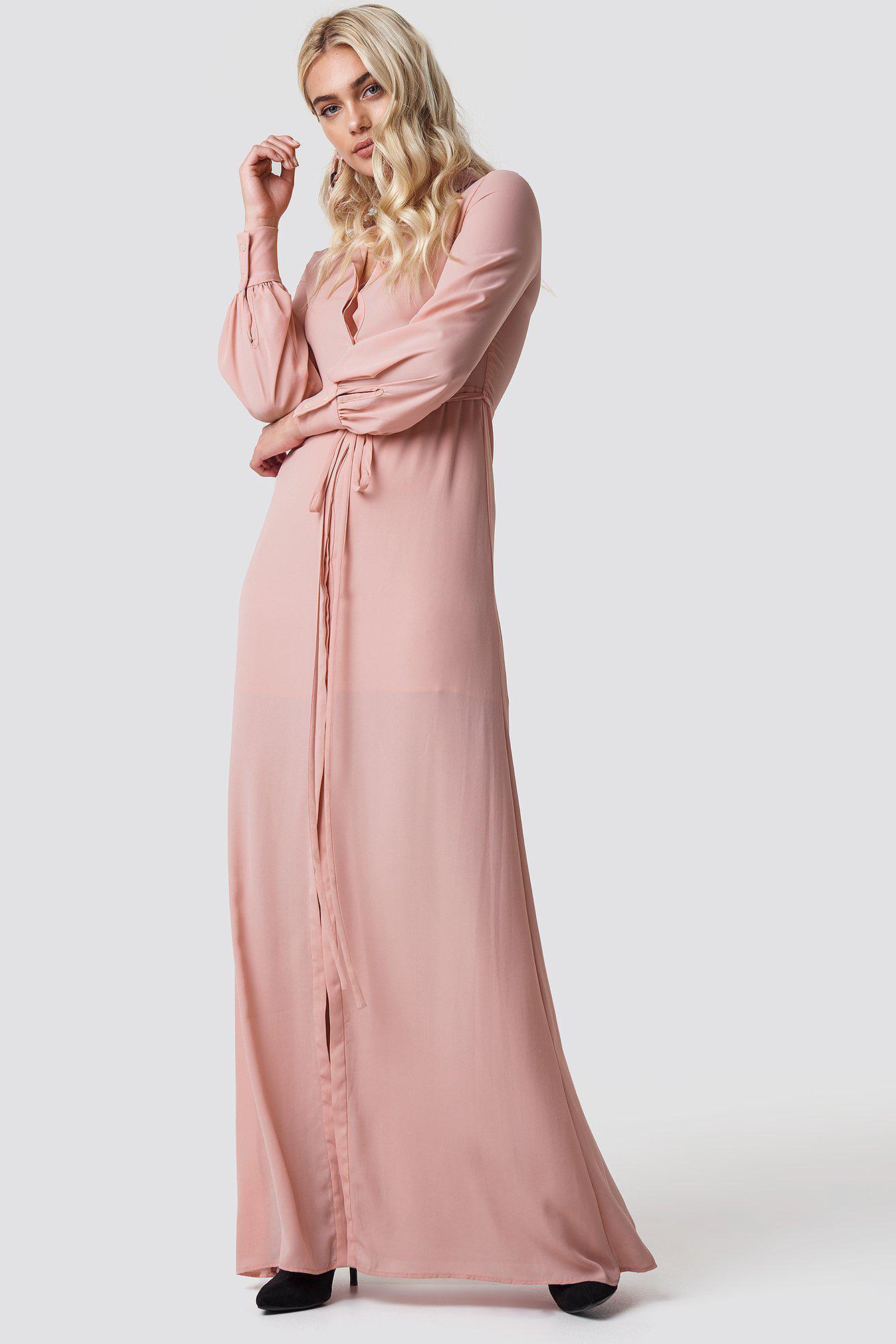99e4d9d43a6 Mango Mia-a Maxi Dress Pastel Pink in Pink - Lyst
