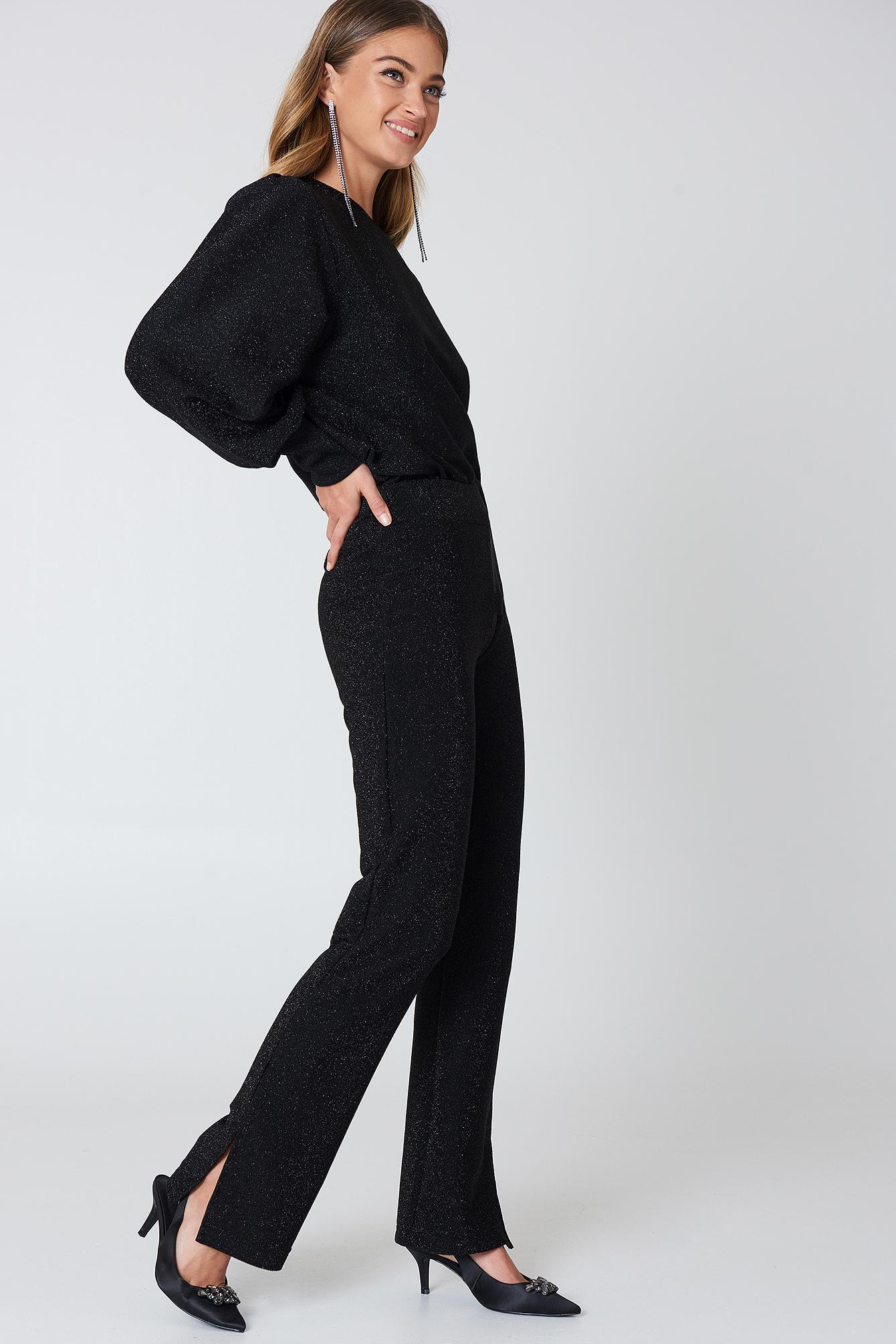 c2fd3b2ad9 Just Female Rhea Pants in Black - Lyst