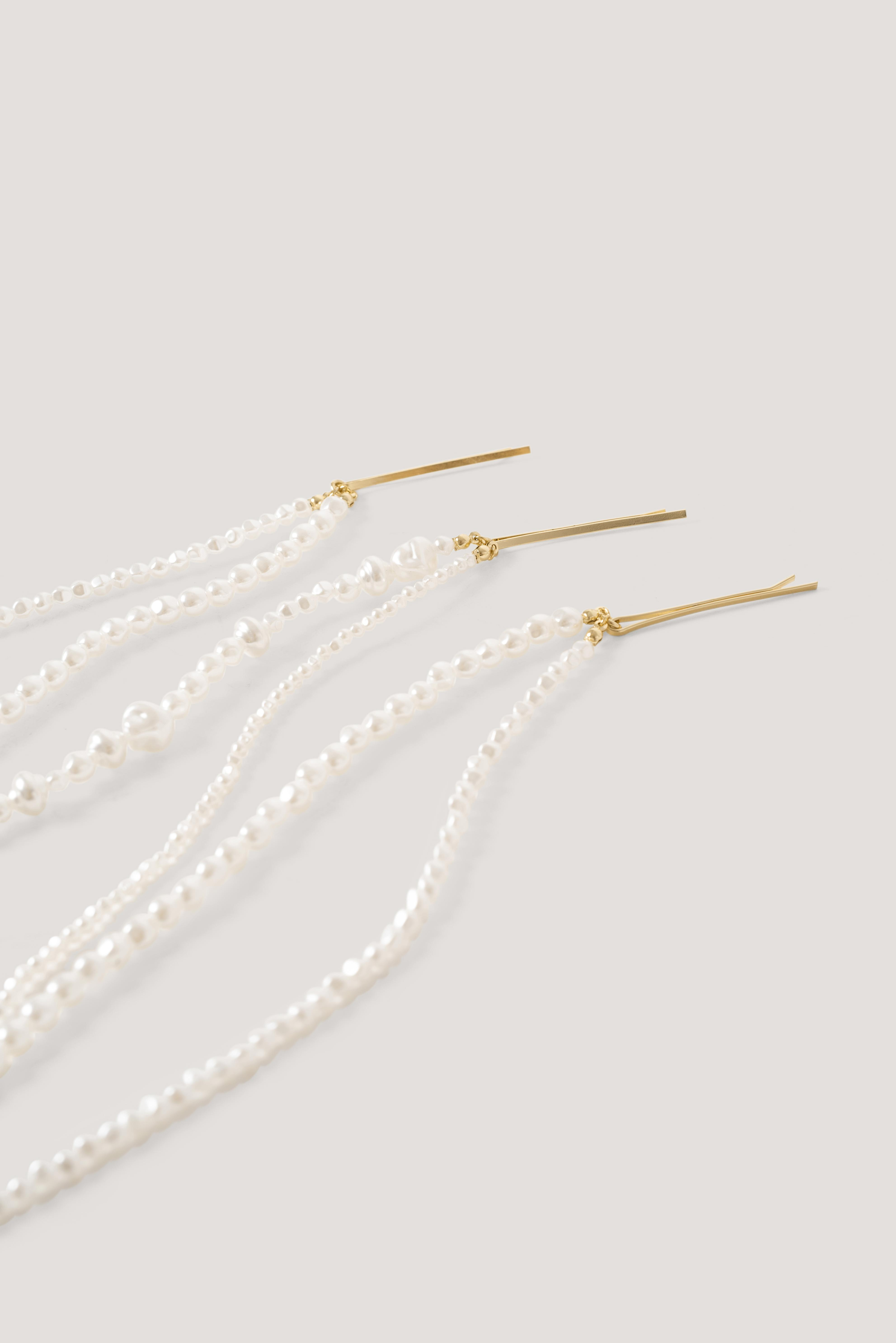 NA-KD Gold Big Matte Hair Clip in Metallic - Lyst