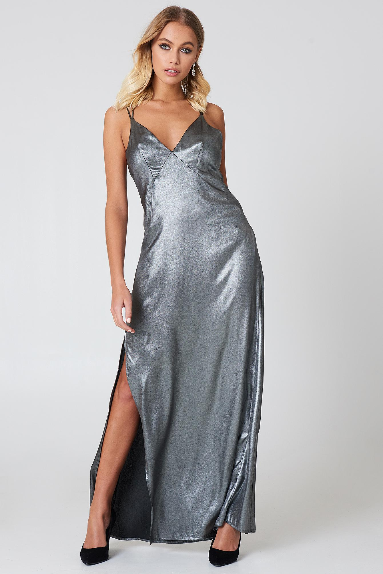 50c774f4127 Lyst - Astr Raven Dress Gunmetal
