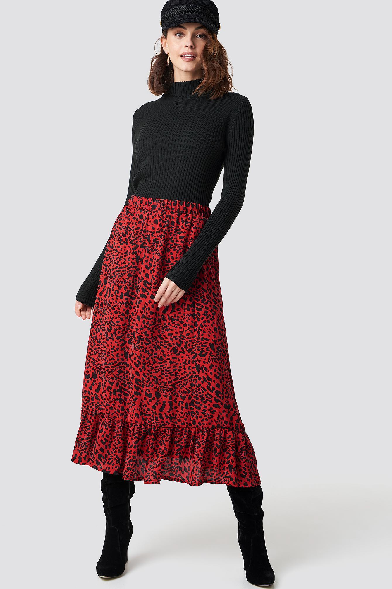 Leni Turtleneck Sweater Synthétique Sisters Point en coloris Noir