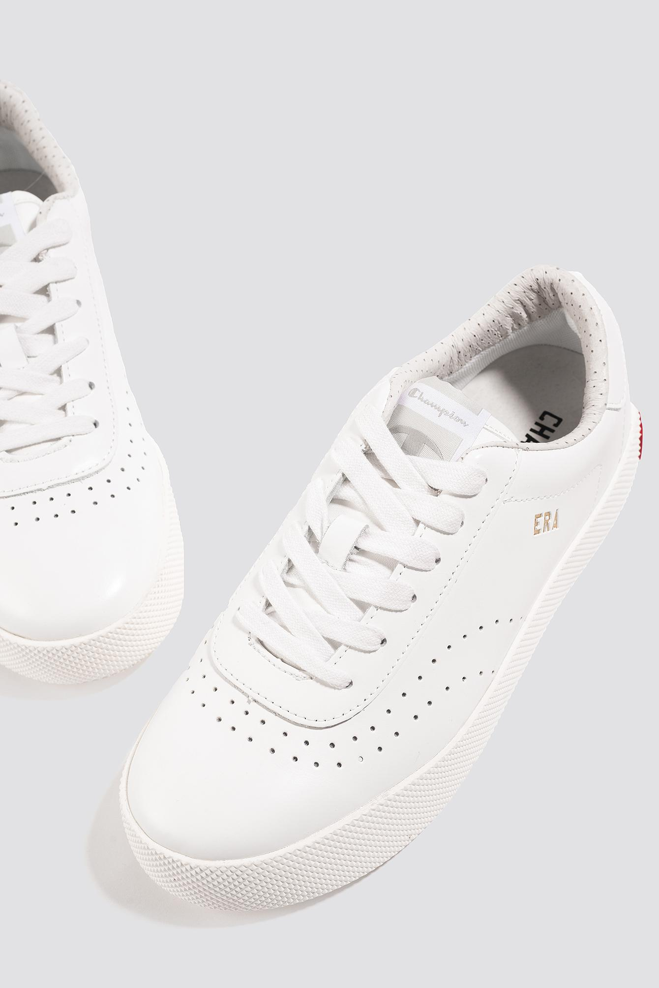 Champion Era Leather Sneaker in White