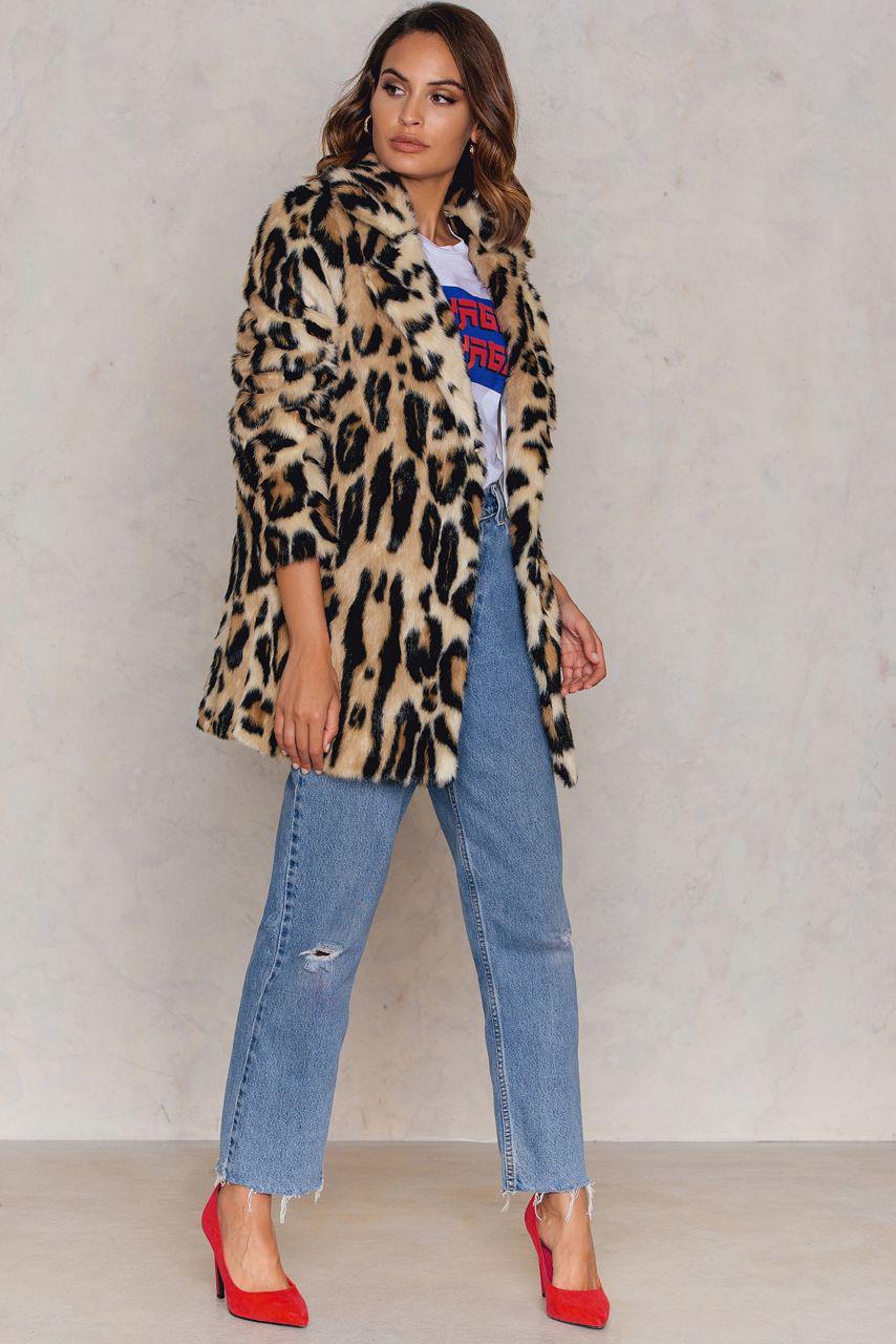 Fur Leo Faux Multicolor Jacket Y6gyvbf7