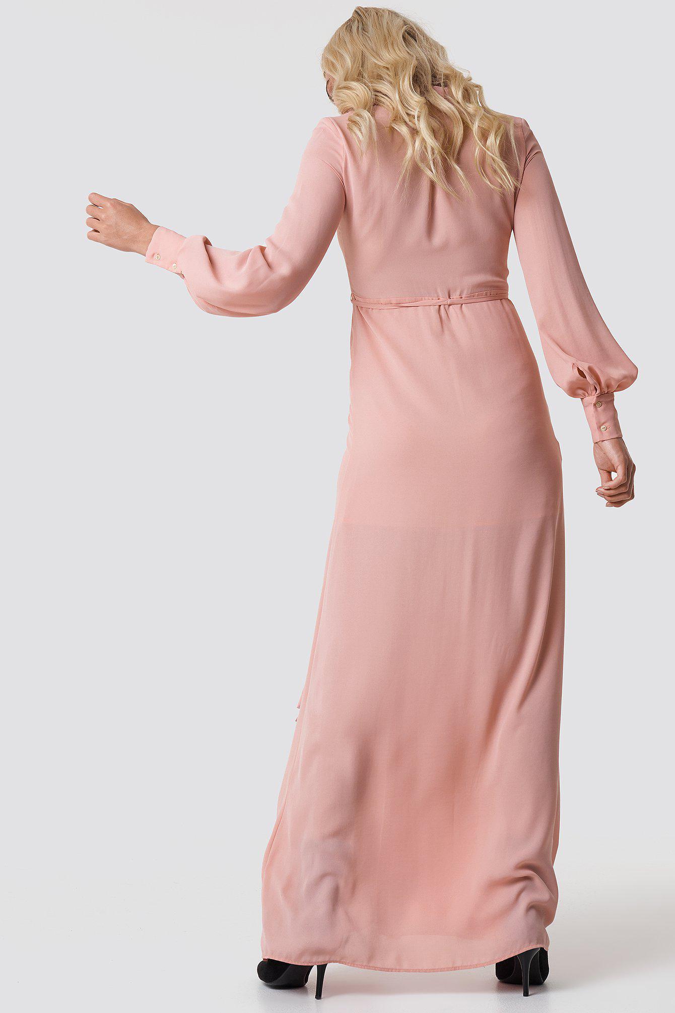 f200d583ba8 Mango - Mia-a Maxi Dress Pastel Pink - Lyst. View fullscreen
