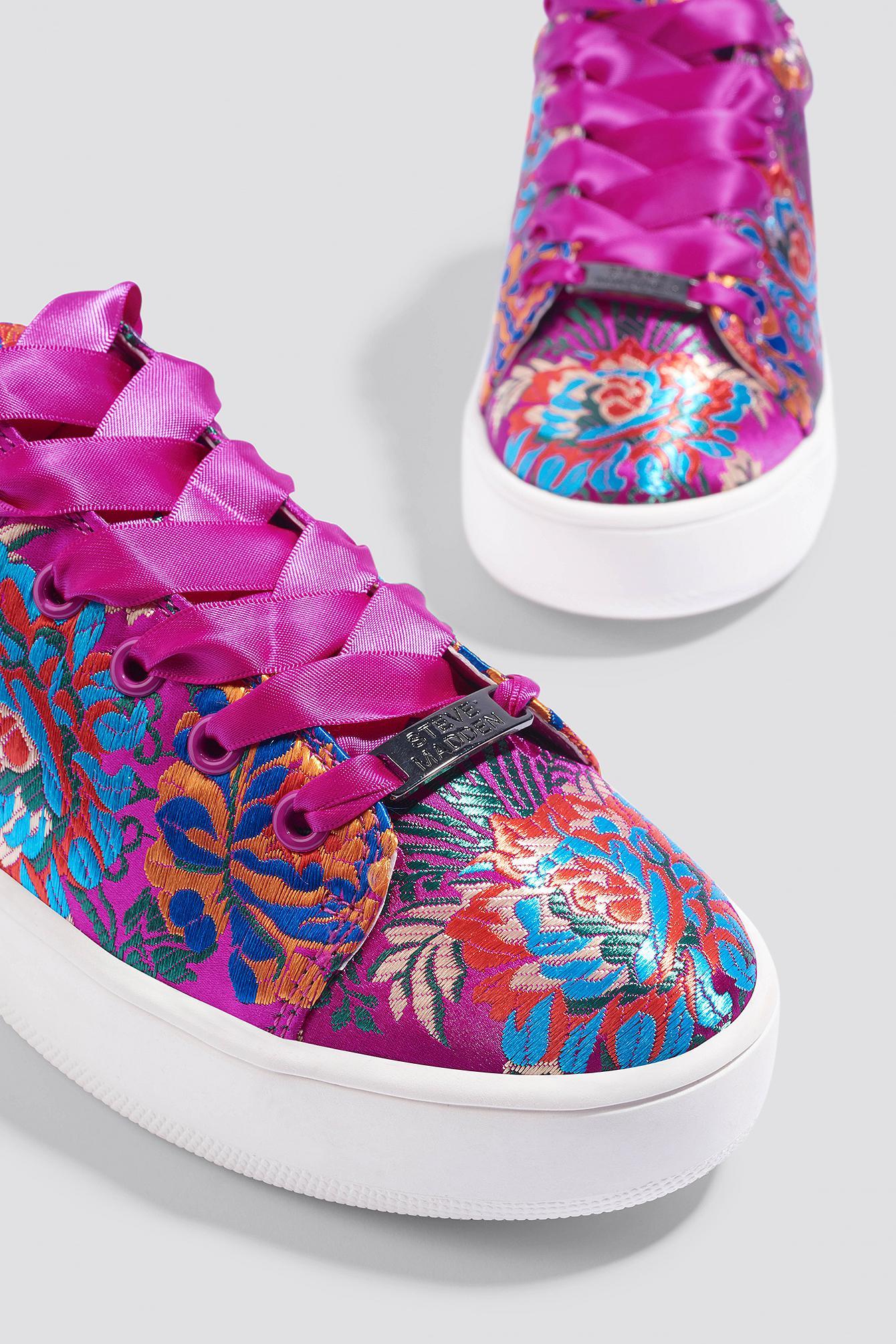 Steve Madden Satin Brody Sneaker