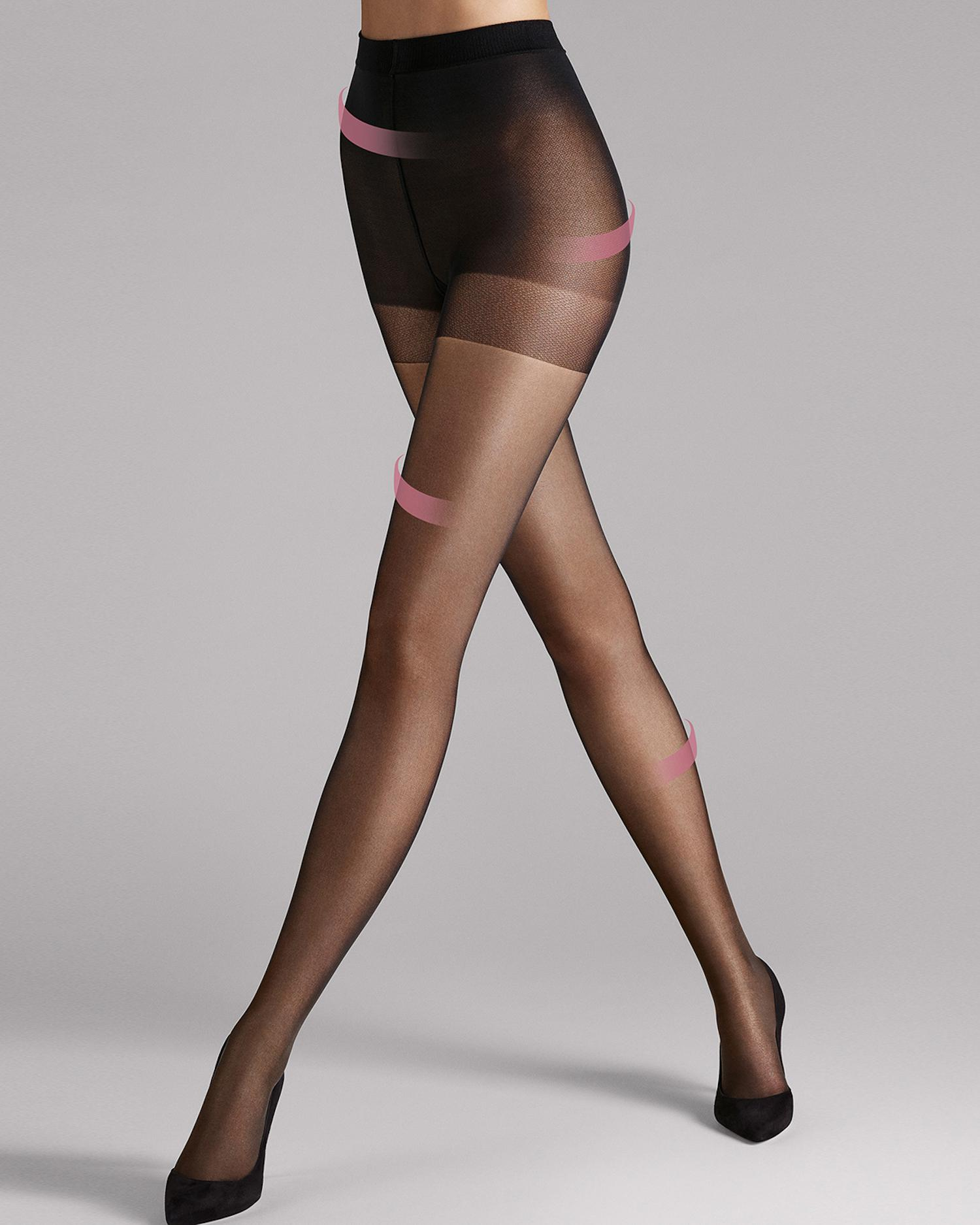 34193a6ac Lyst - Wolford Missw 30 Absolute Leg Support Tights in Black
