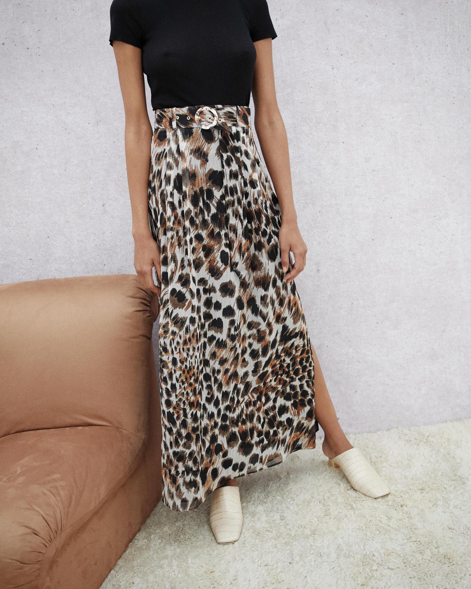 e80743cb8e Nanushka. Women's Belted Maxi Skirt