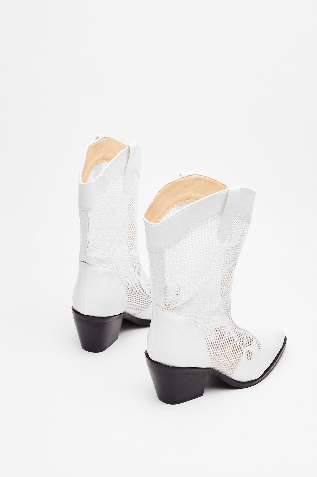 rootin'-tootin' Mesh Cowboy Boots