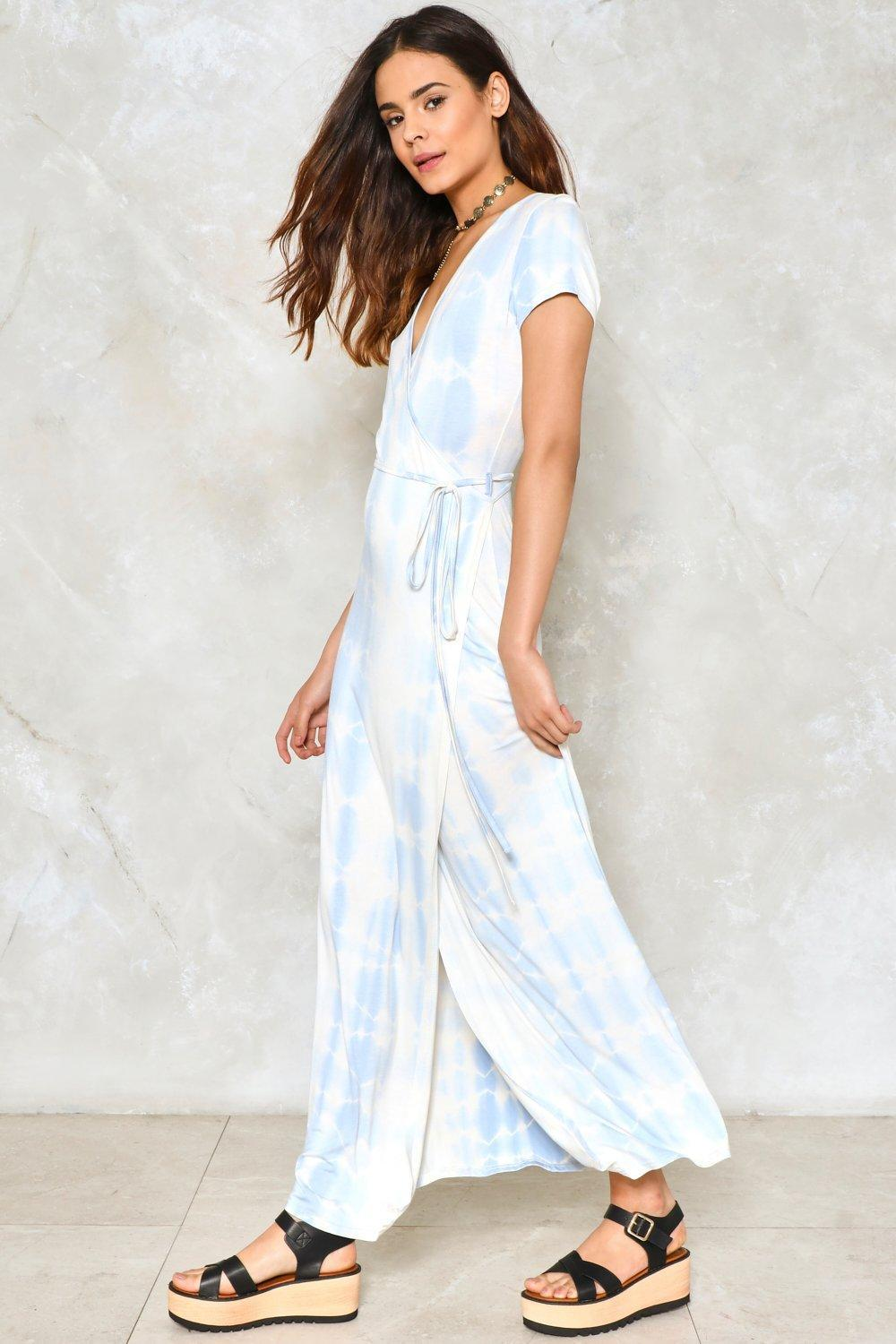 169c78cce4 Lyst - Nasty Gal Tie-dye For Maxi Dress Tie-dye For Maxi Dress in Blue