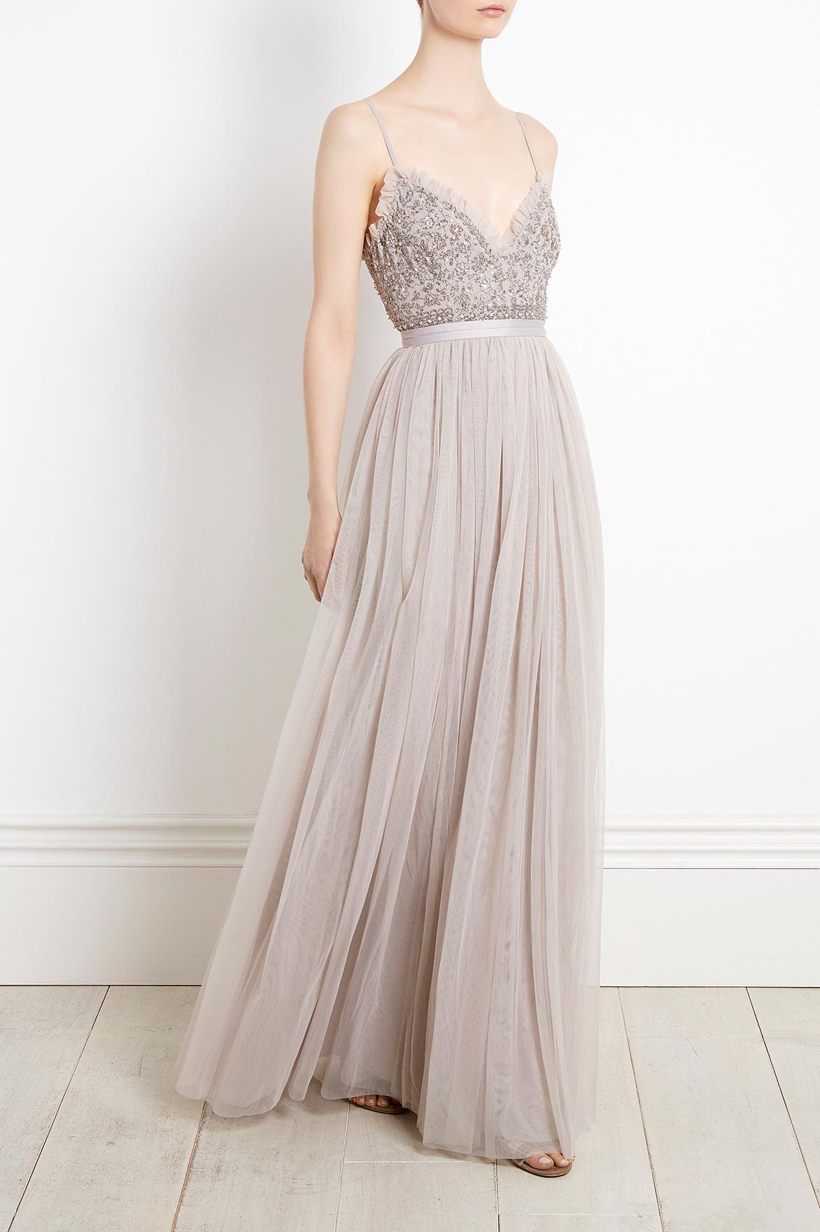 Needle Amp Thread Lace Andromeda Maxi Dress Lyst
