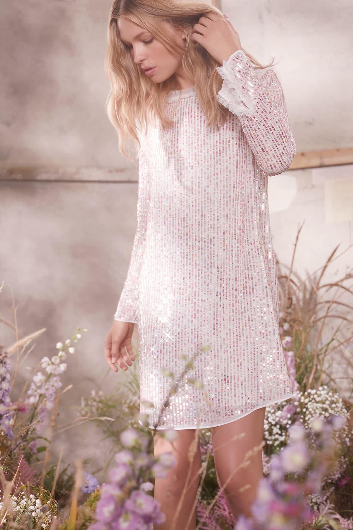 N&T Shimmer Mini Dress