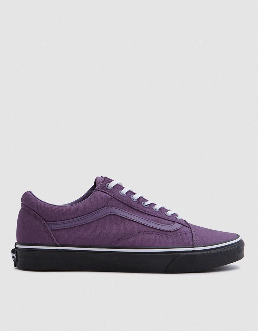vans ua old skool in montana grape in purple for men lyst