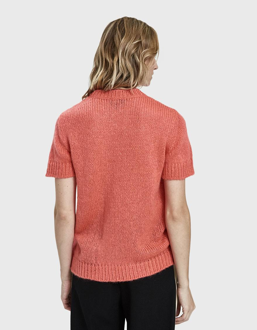 1c2fe733d3f5 Lyst - A.P.C. Dorothee Short Sleeve Sweater