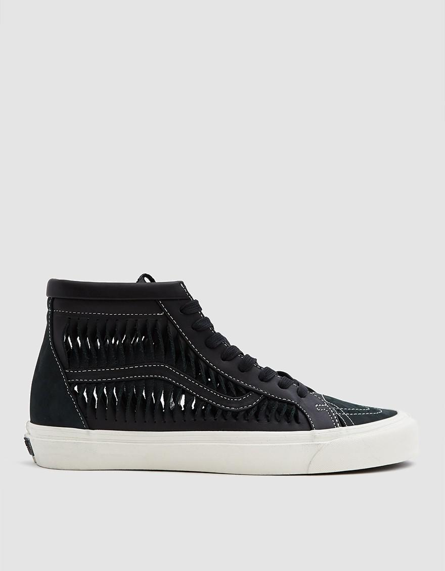 fcda6adc31 Vans Twisted Leather Sk8-hi Reissue Lx Sneaker in Black for Men - Lyst